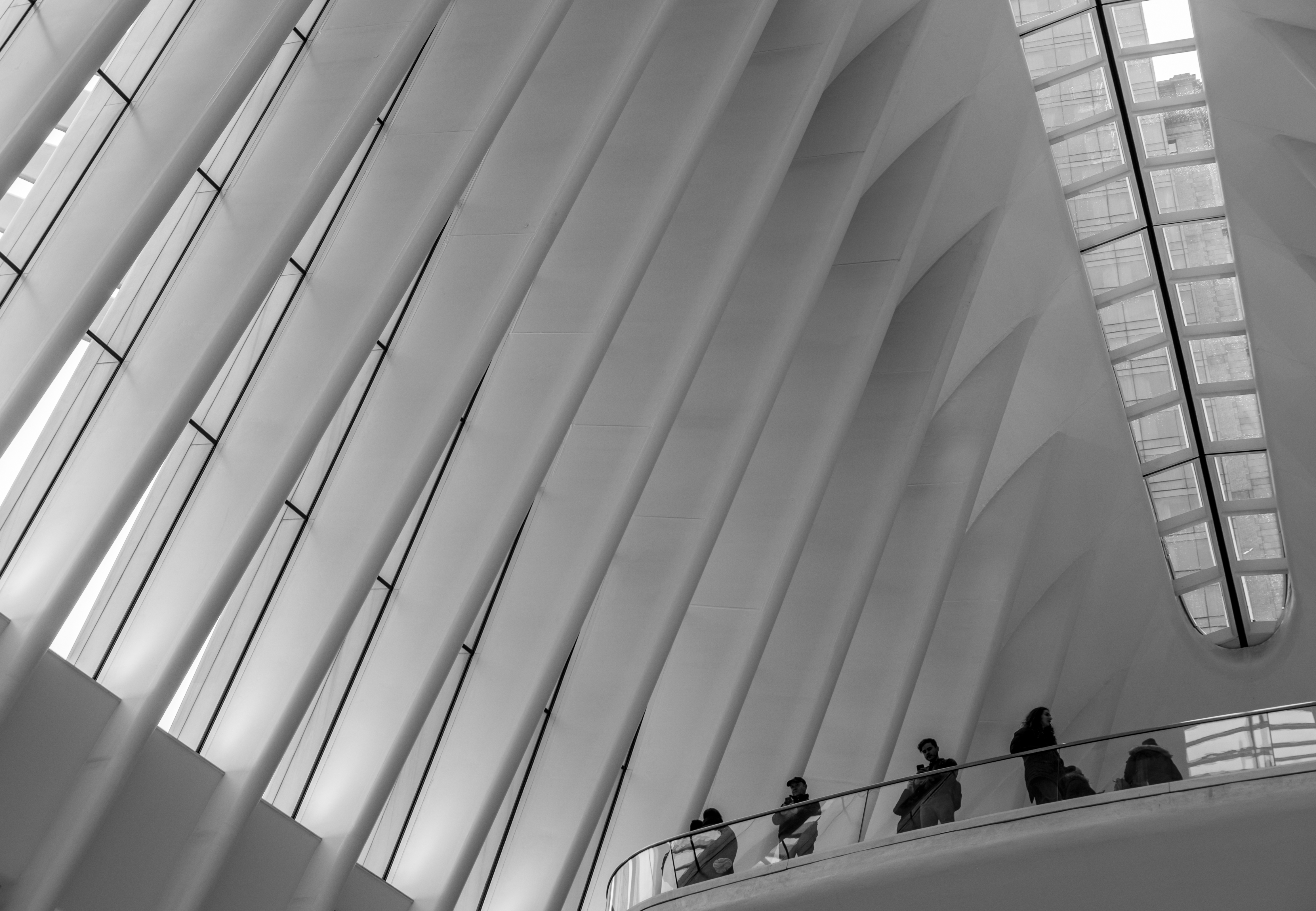 Tourists at the Oculus