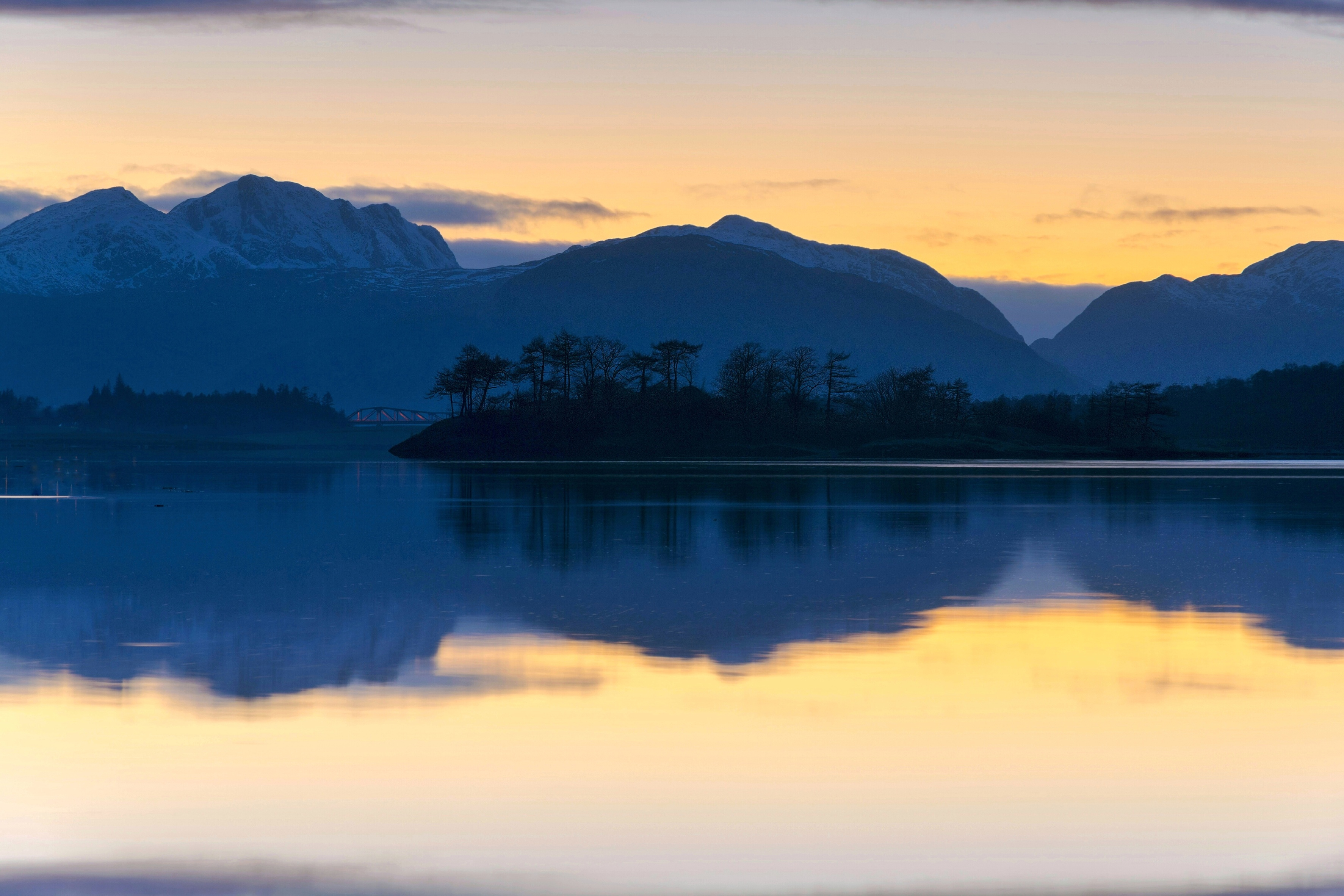 Ballachulish blue ish hour