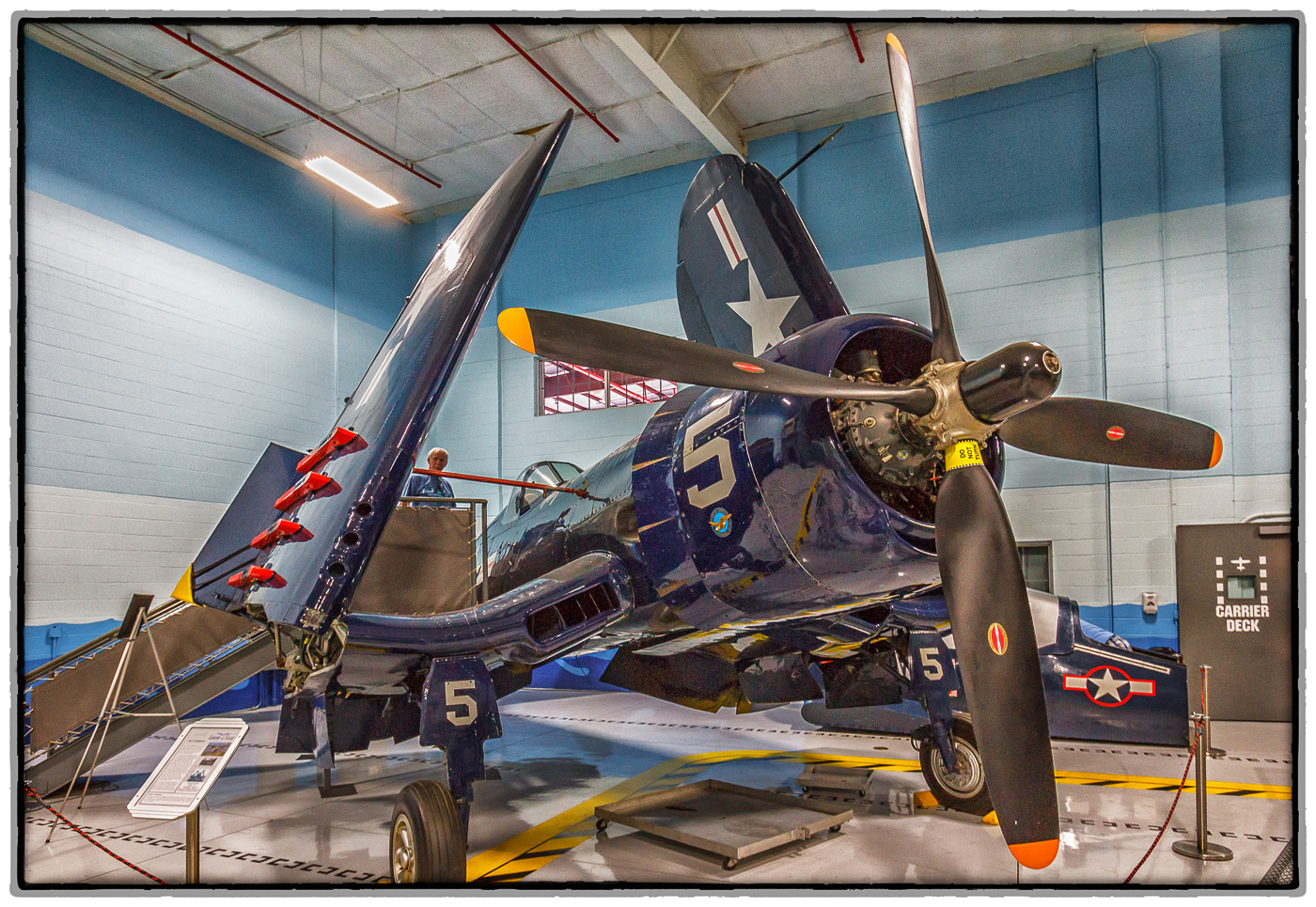 1945 Chance-Vought F4U-4 Corsair