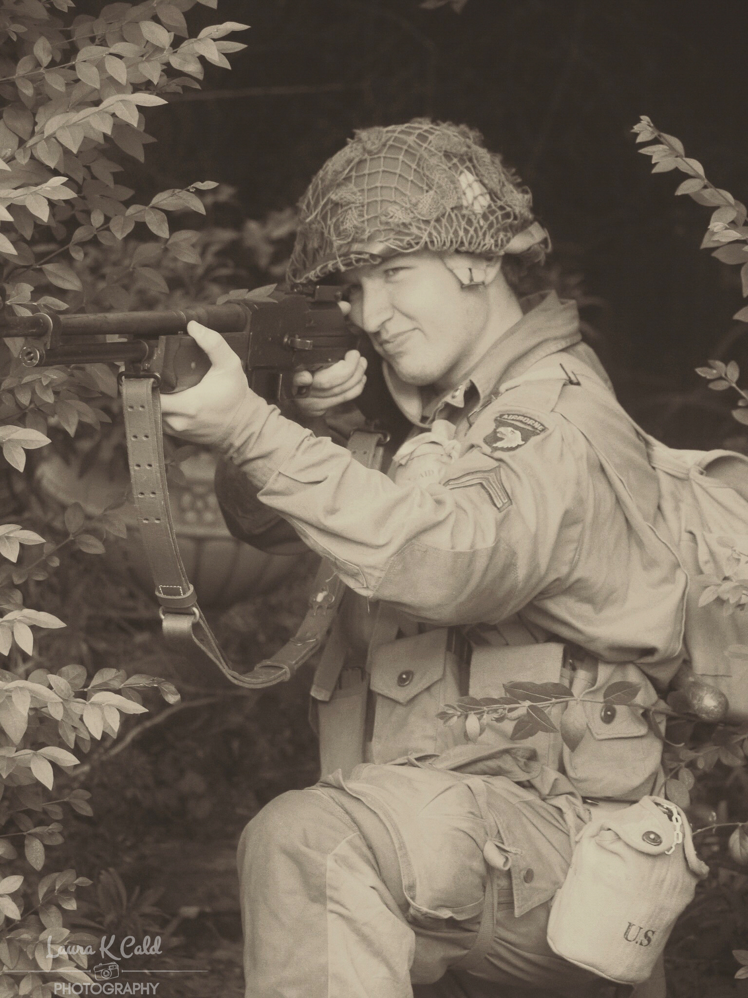 WW2 American Paratrooper (reenactment) - Clickasnap - The world's