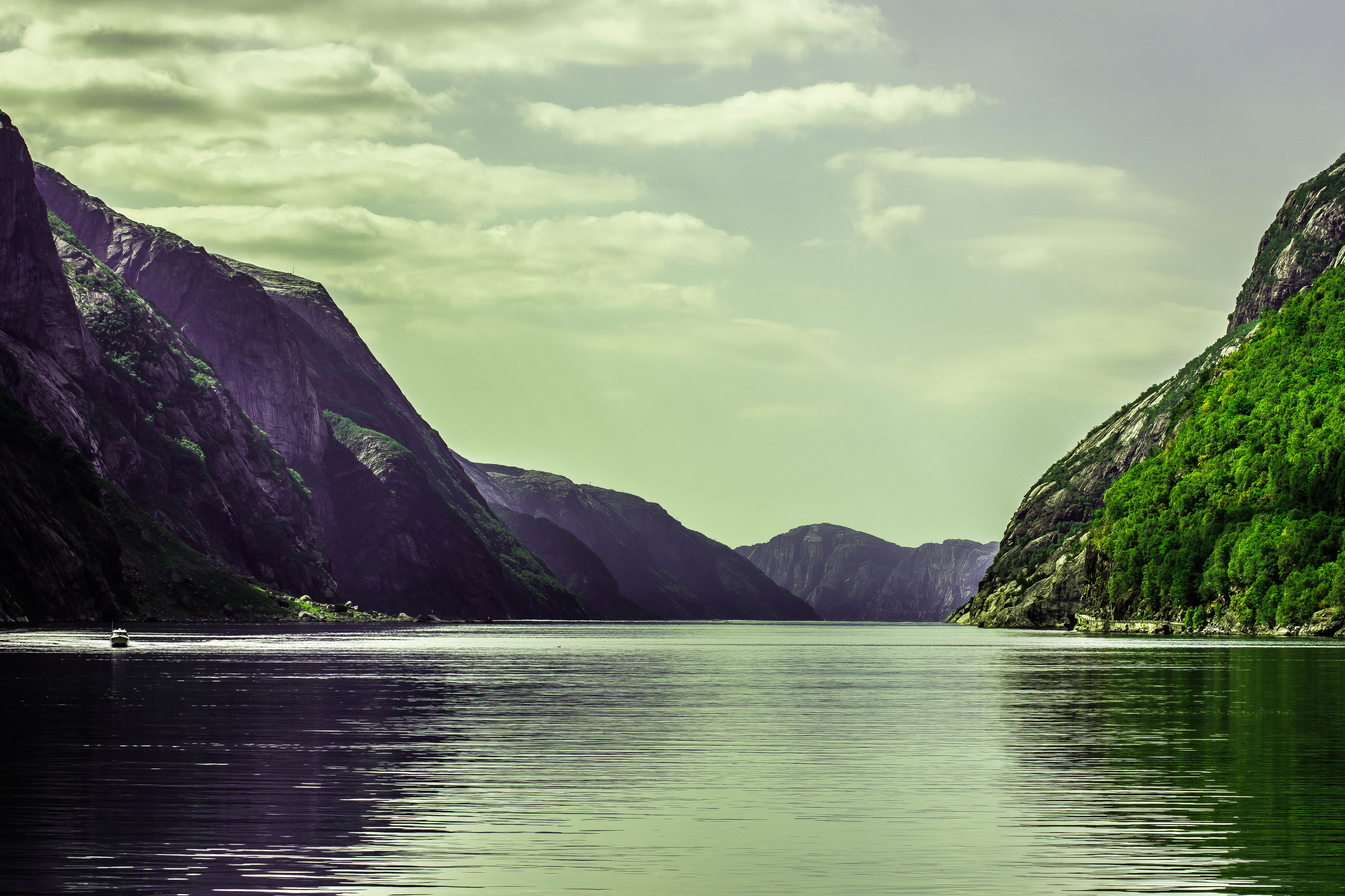 Lysefjorden Norge