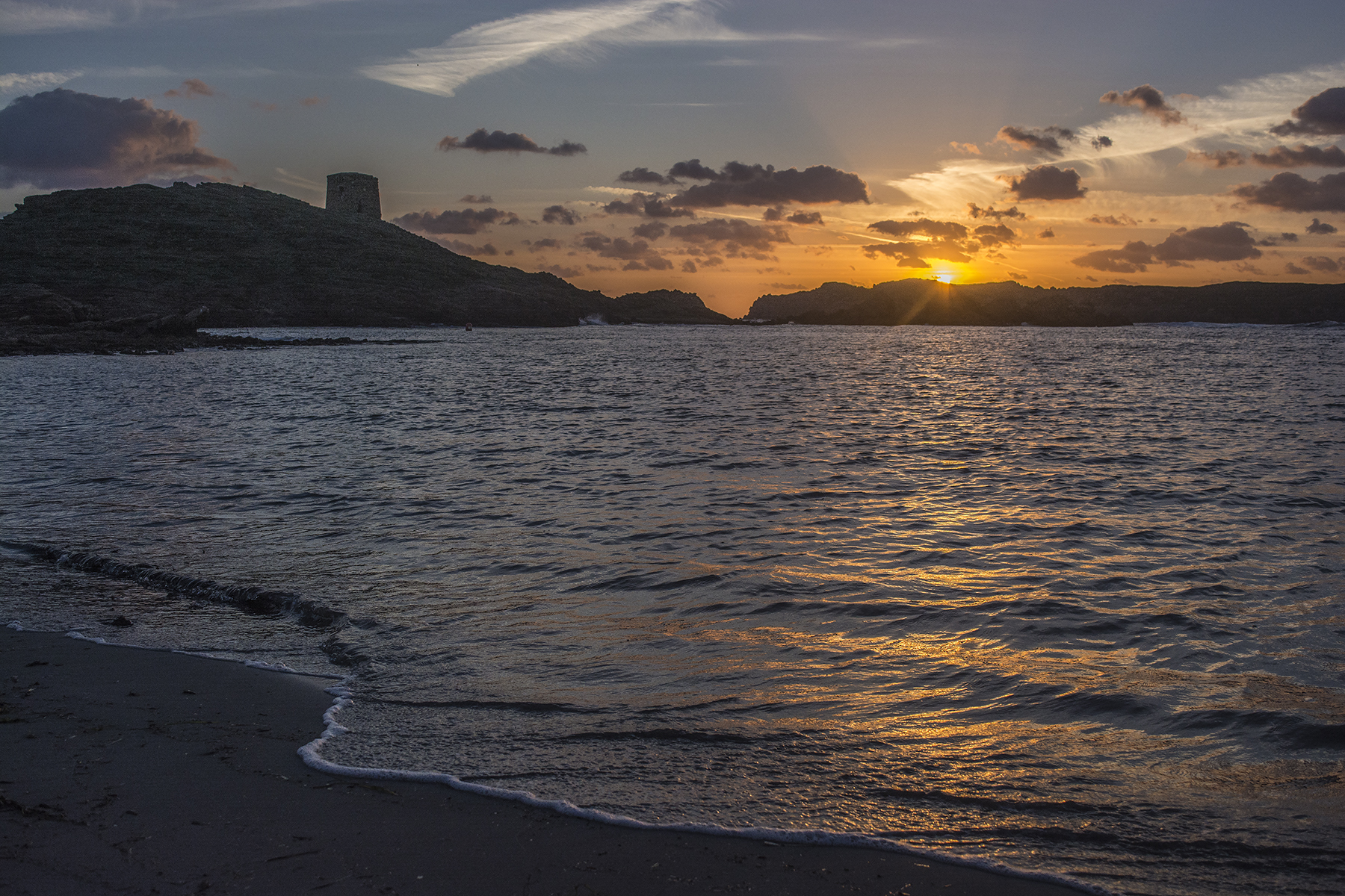 sunrise at Sa Torreta (Balearic Islands)