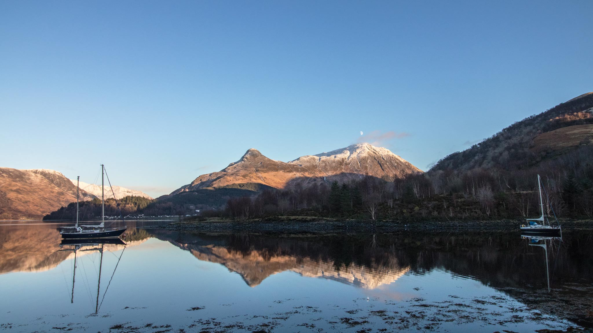 Reflections on Loch Leven