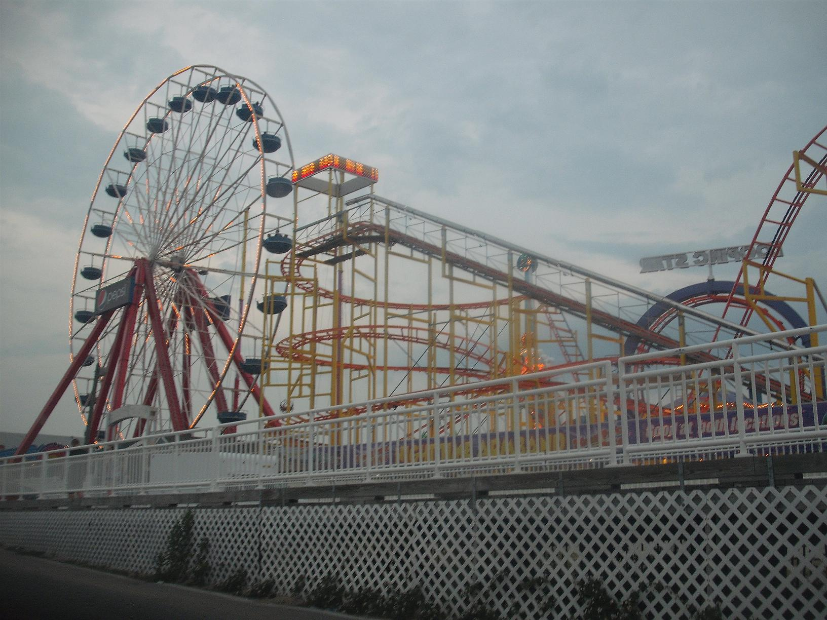 Ocean City Maryland Carnival Rides at the Pier