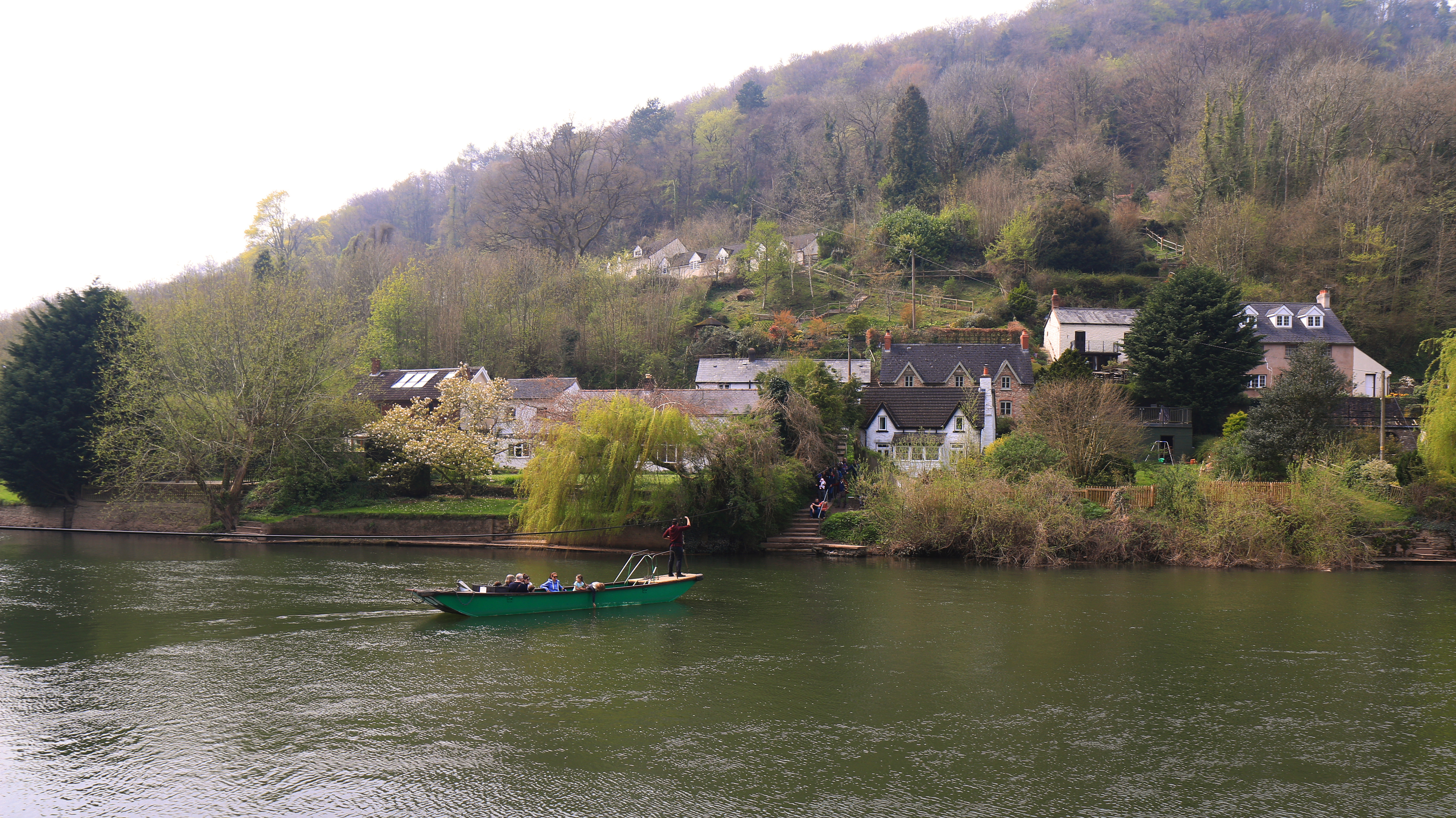 Hand Ferry at Symonds Yat