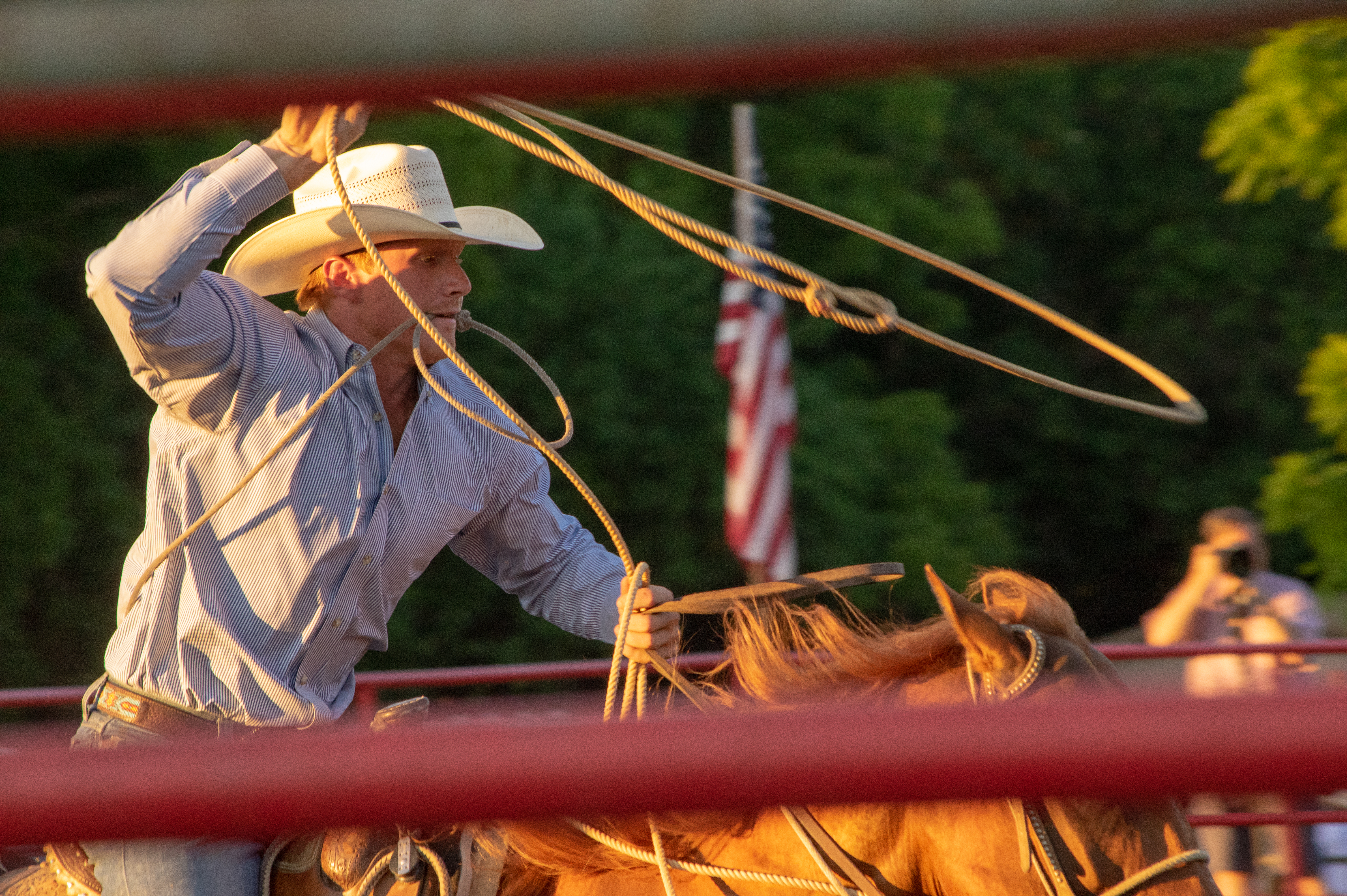 Big Hat Rodeo in Illinois - Lassoo