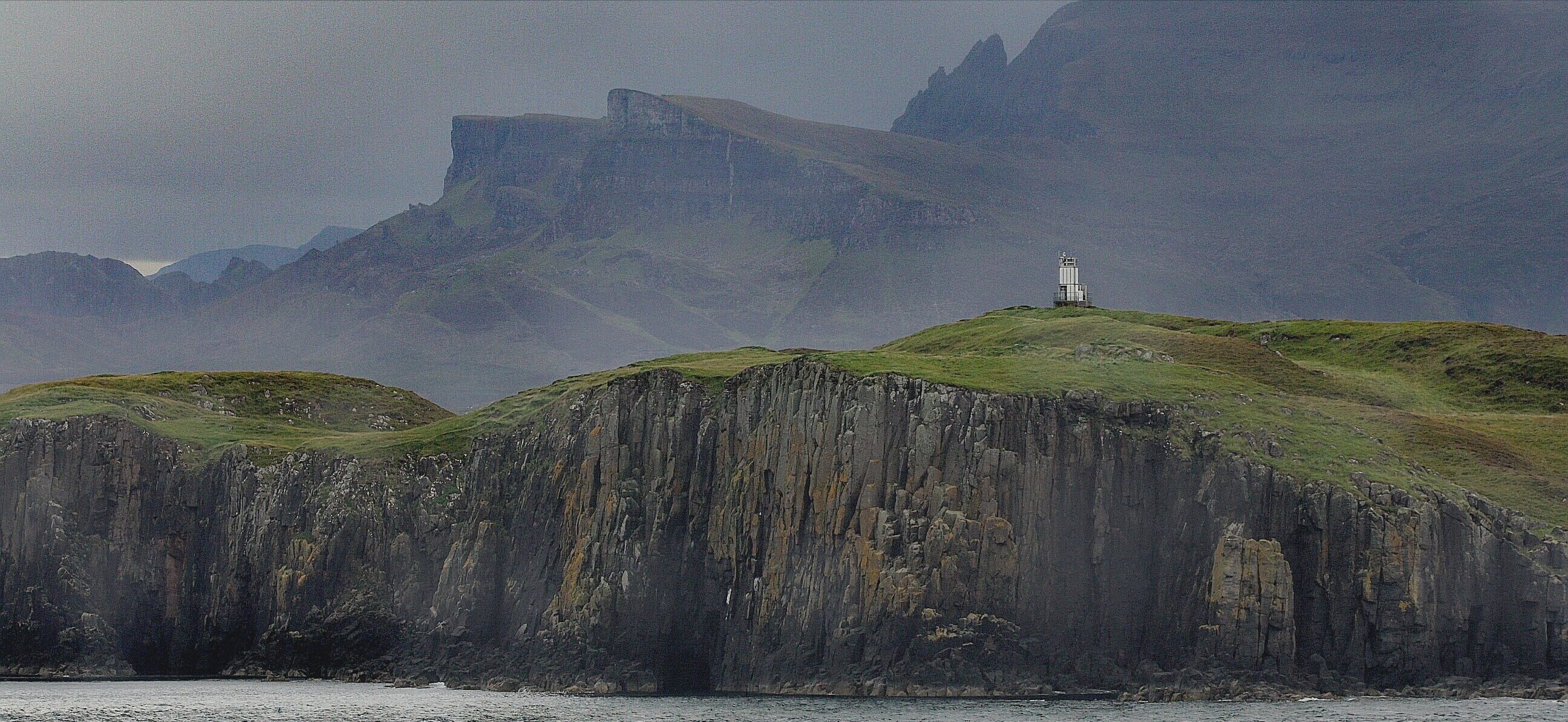 Northern tip of the Isle of Skye.