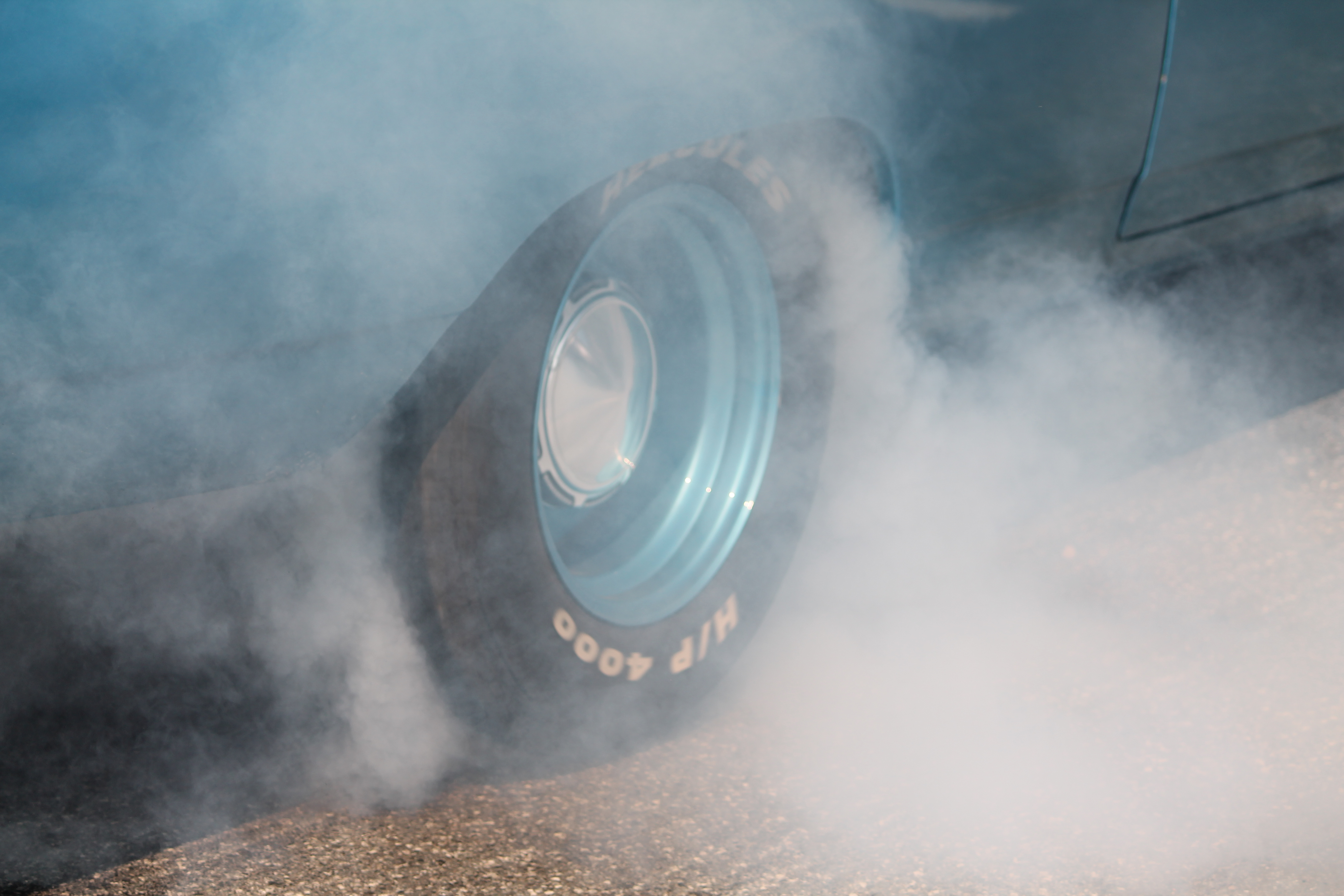 Burning rubber at the annual Turtel Ball Run & Meet event