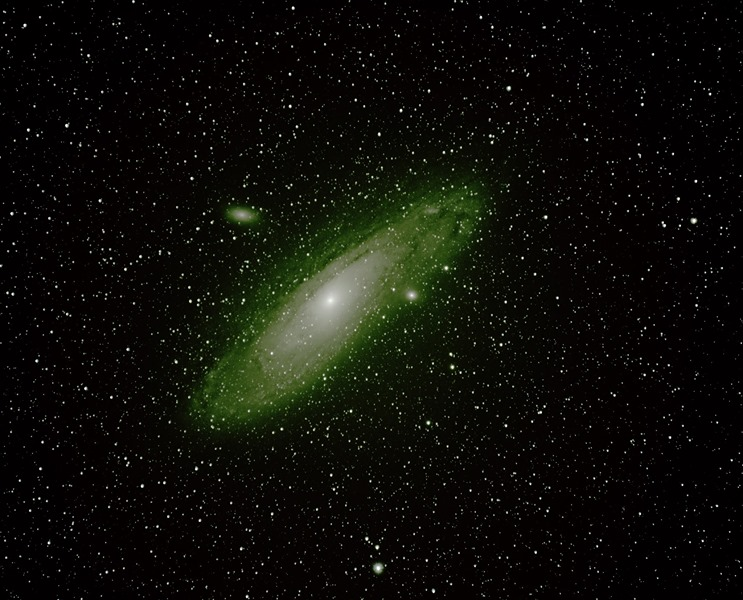 How to photograph the Andromeda Galaxy