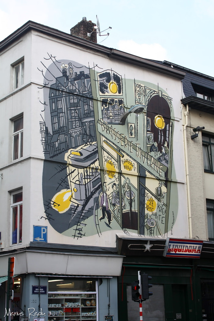 Street-art in Brussels