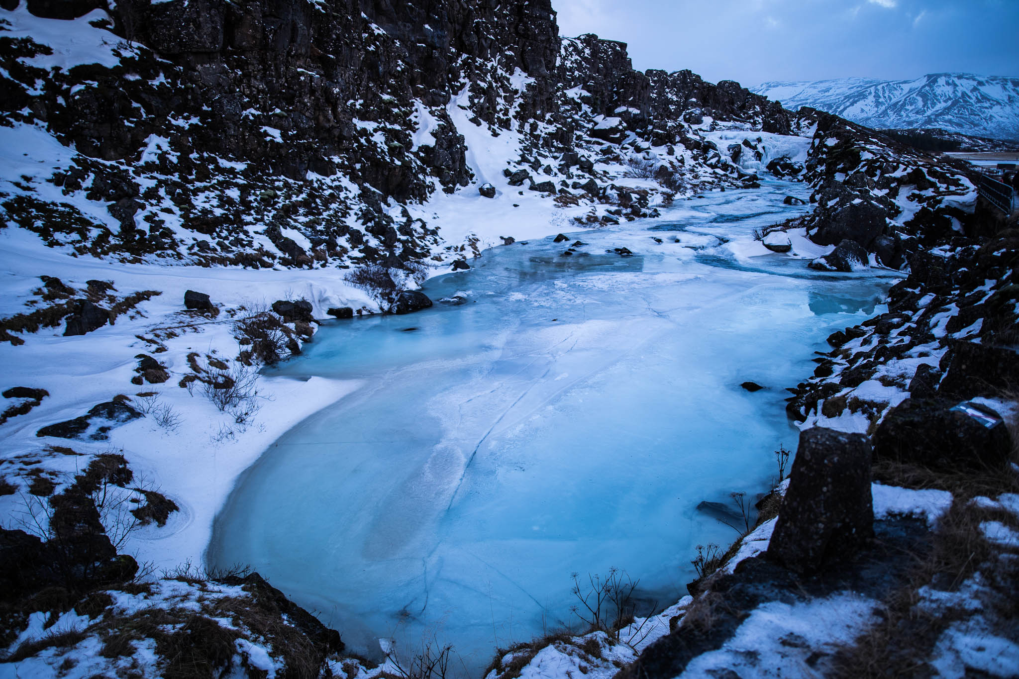Frozen River, Iceland