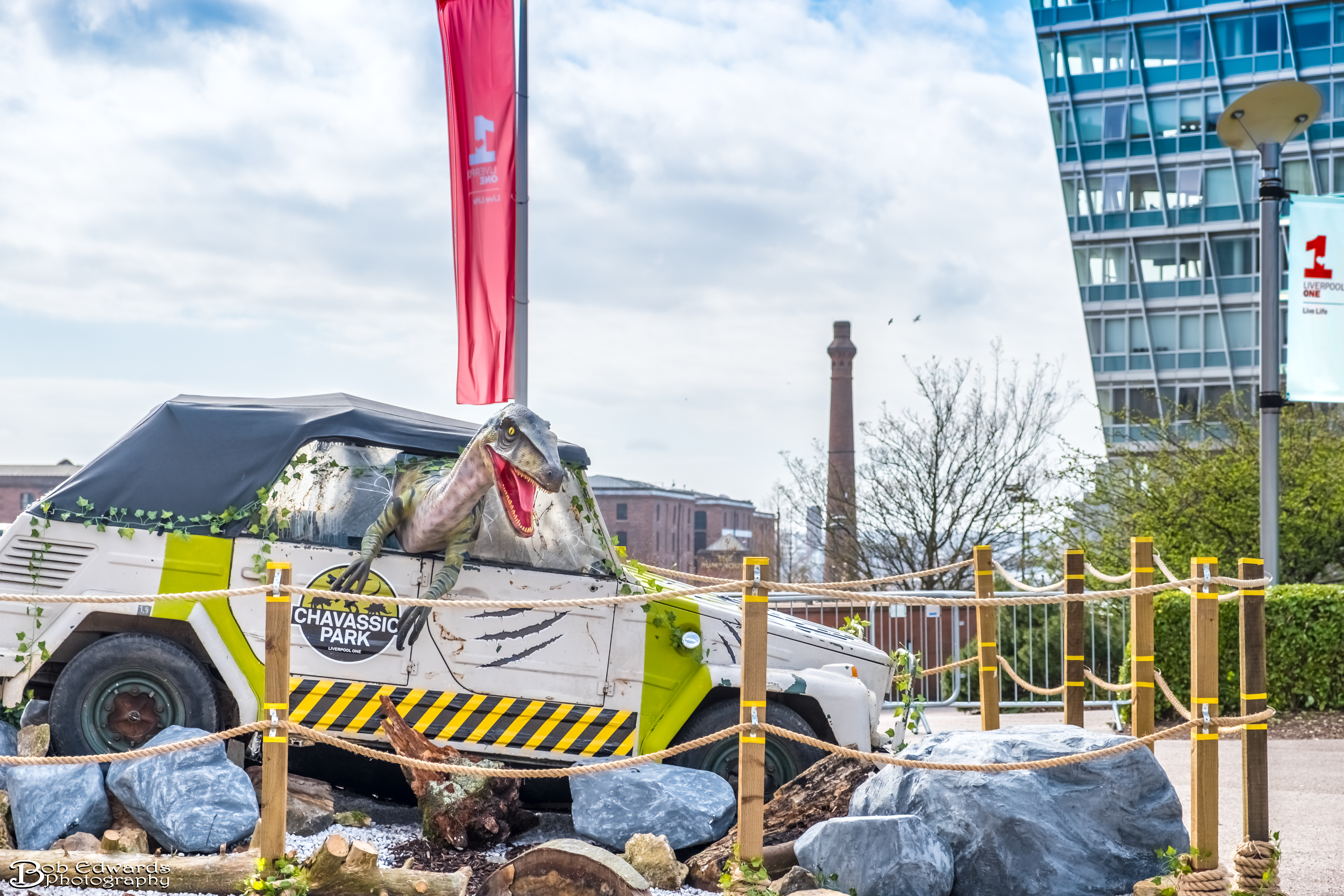 Dinosaurs Unleashed Liverpool ONE