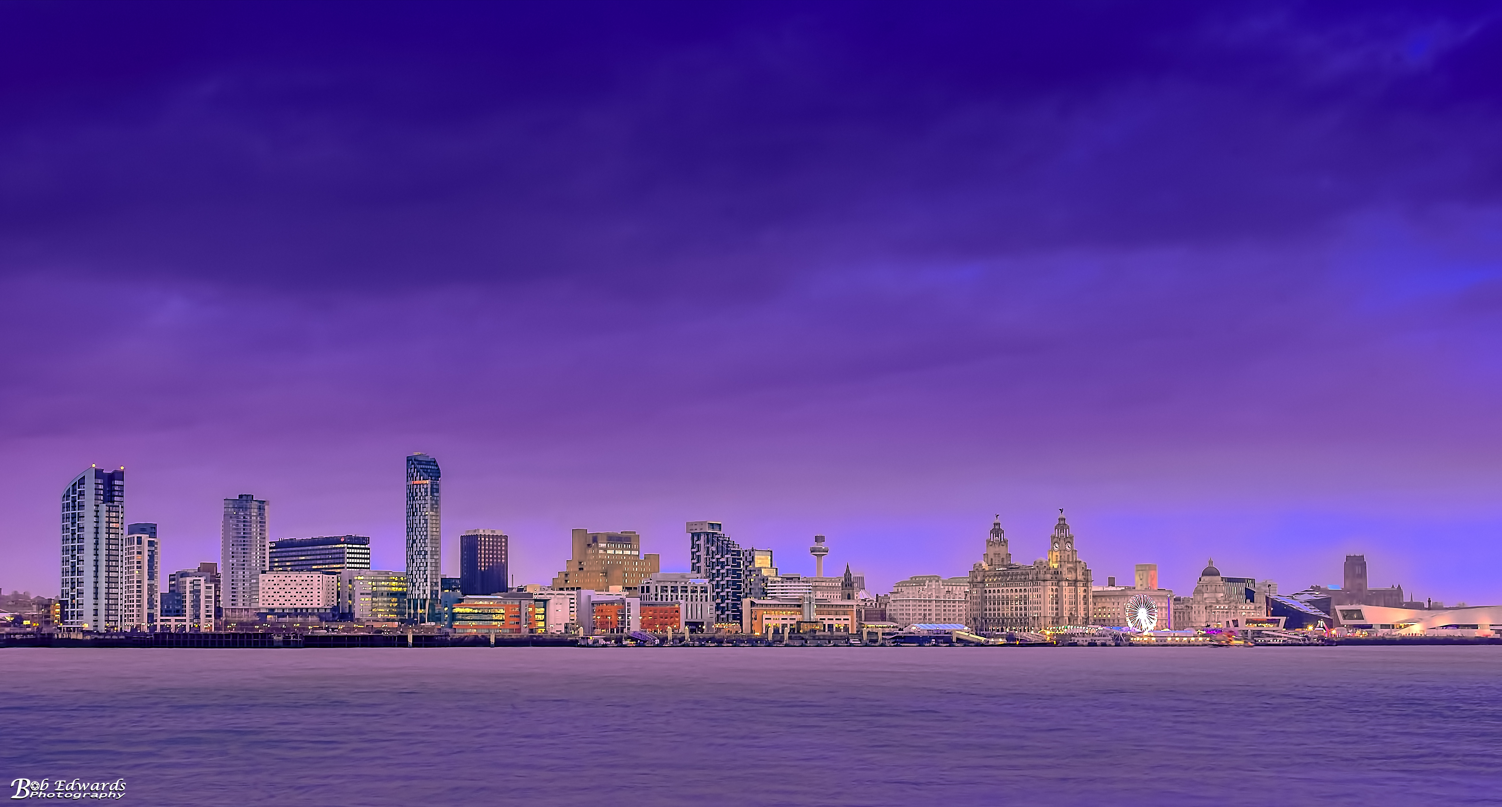 Liverpool Waterfront on 29th December 2017
