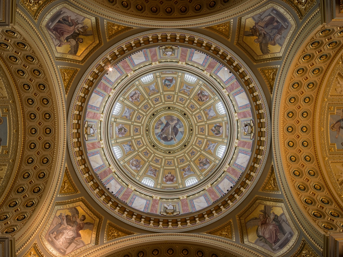 St. Stephen's Basilica Ceiling