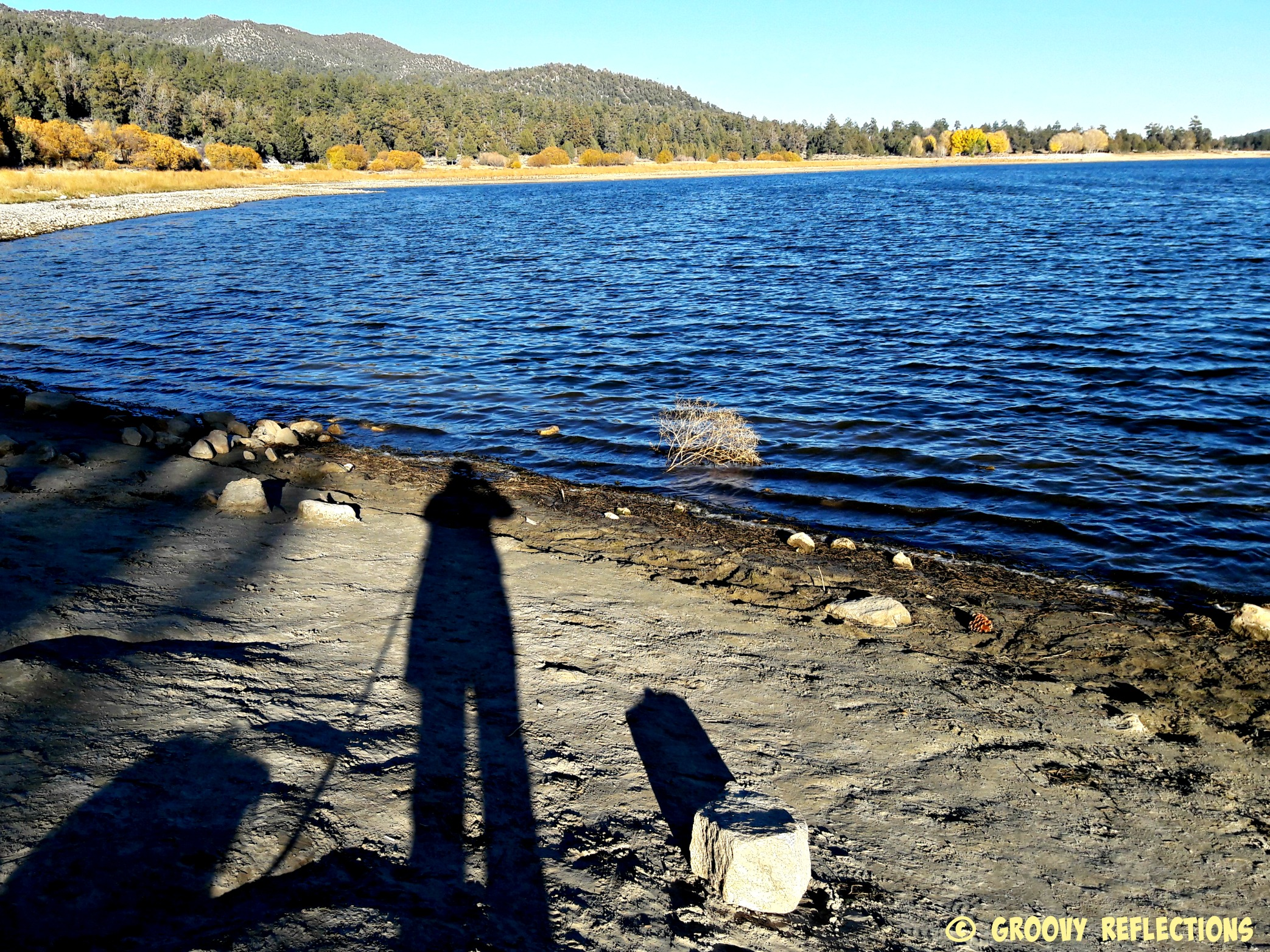 Shadow at Big Bear Lake