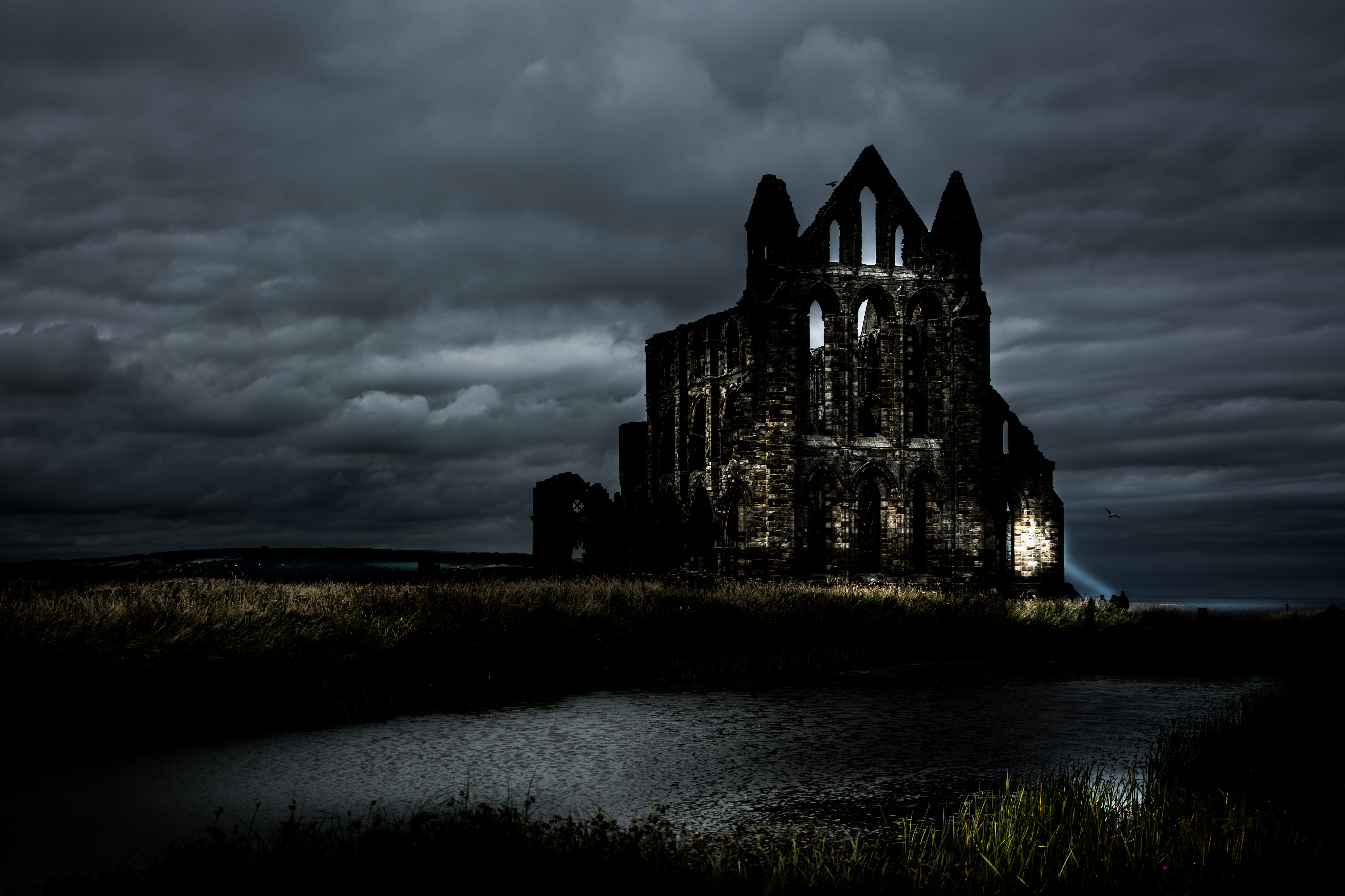Snap 4 Sport >> Whitby Abbey at night 3 - Clickasnap - The world's largest, free to use, paid per view, image ...