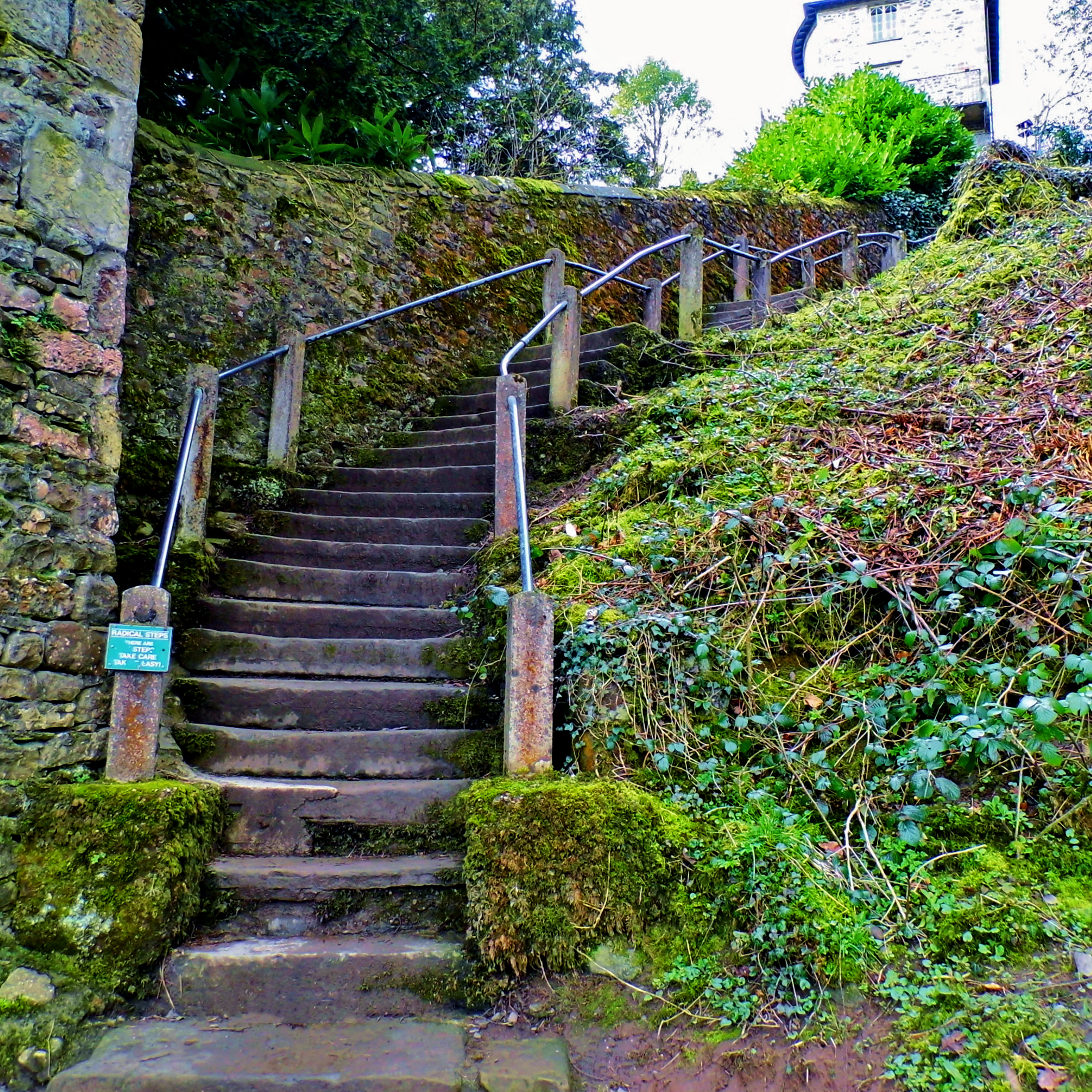 Bottom of the Radical Steps, Kirkby Lonsdale