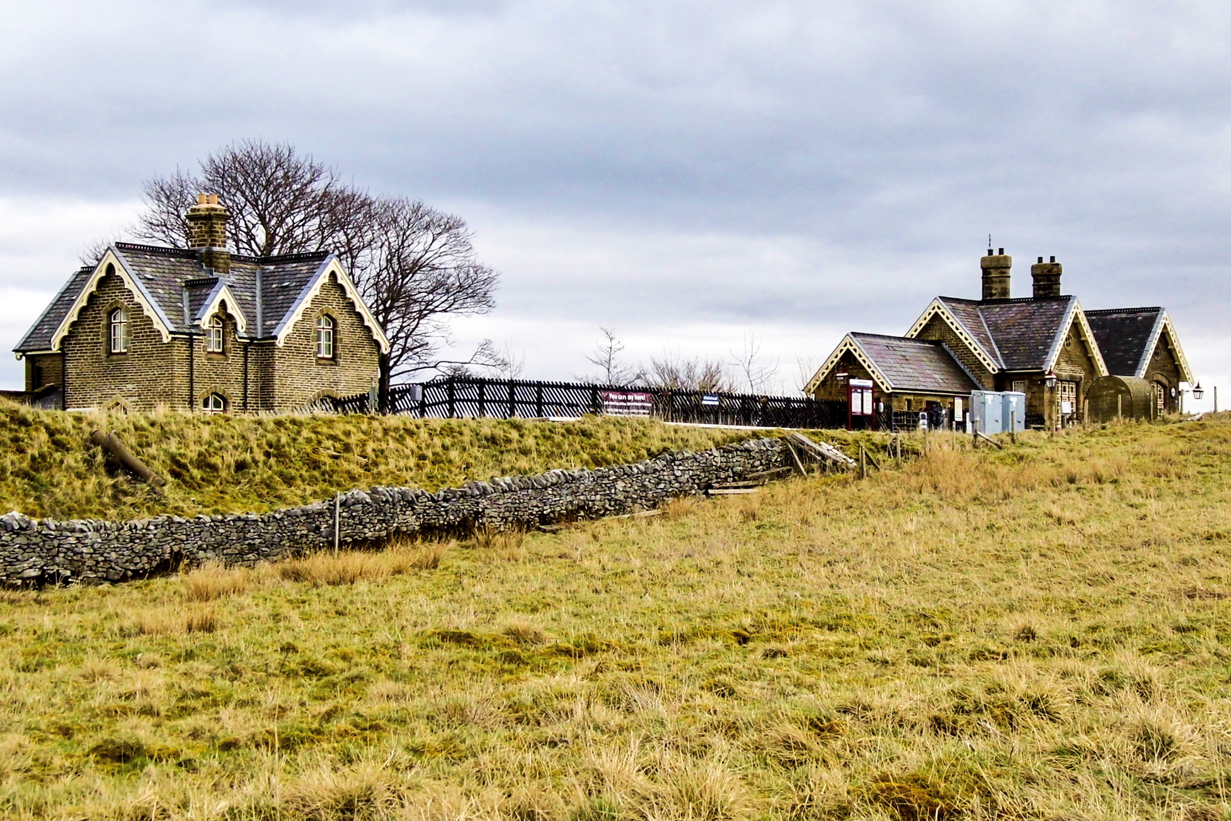 Ribblehead Railway Station, North Yorkshire.