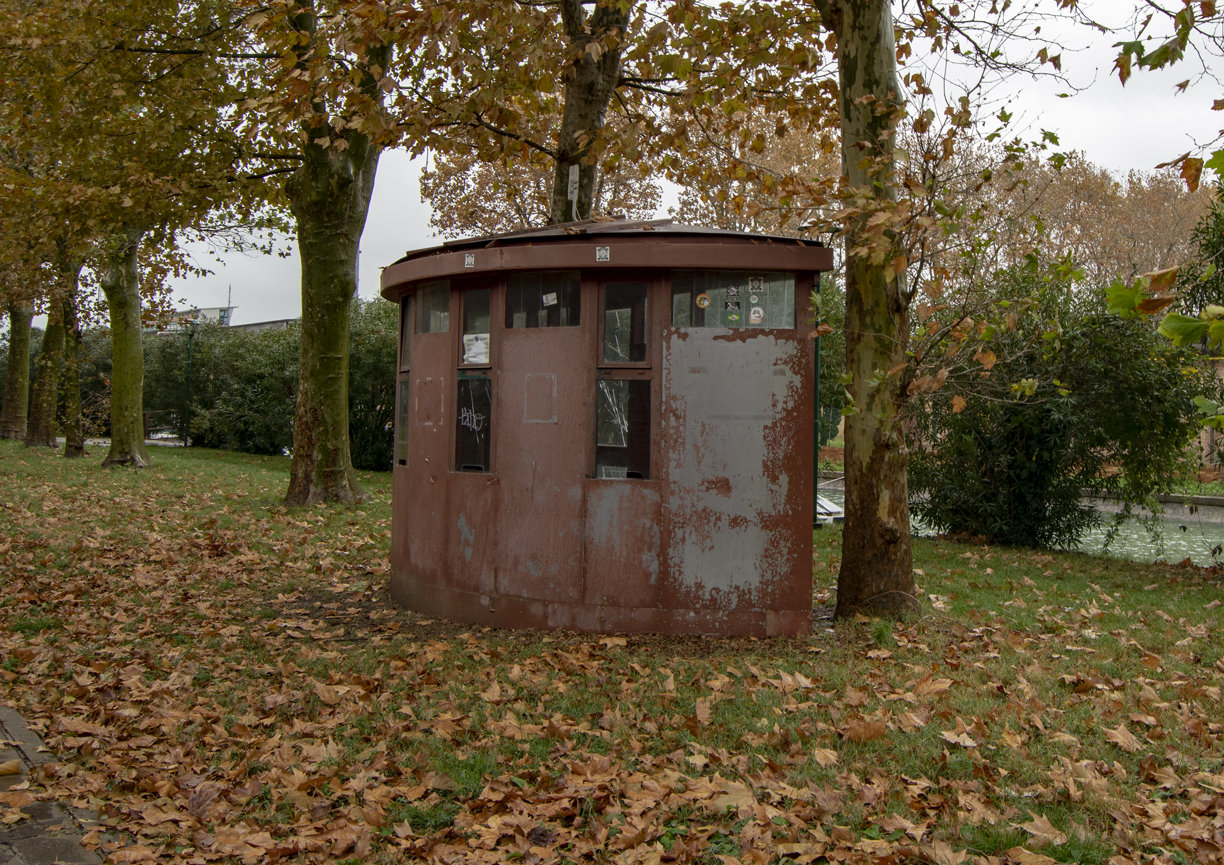 The Ticket Booth.