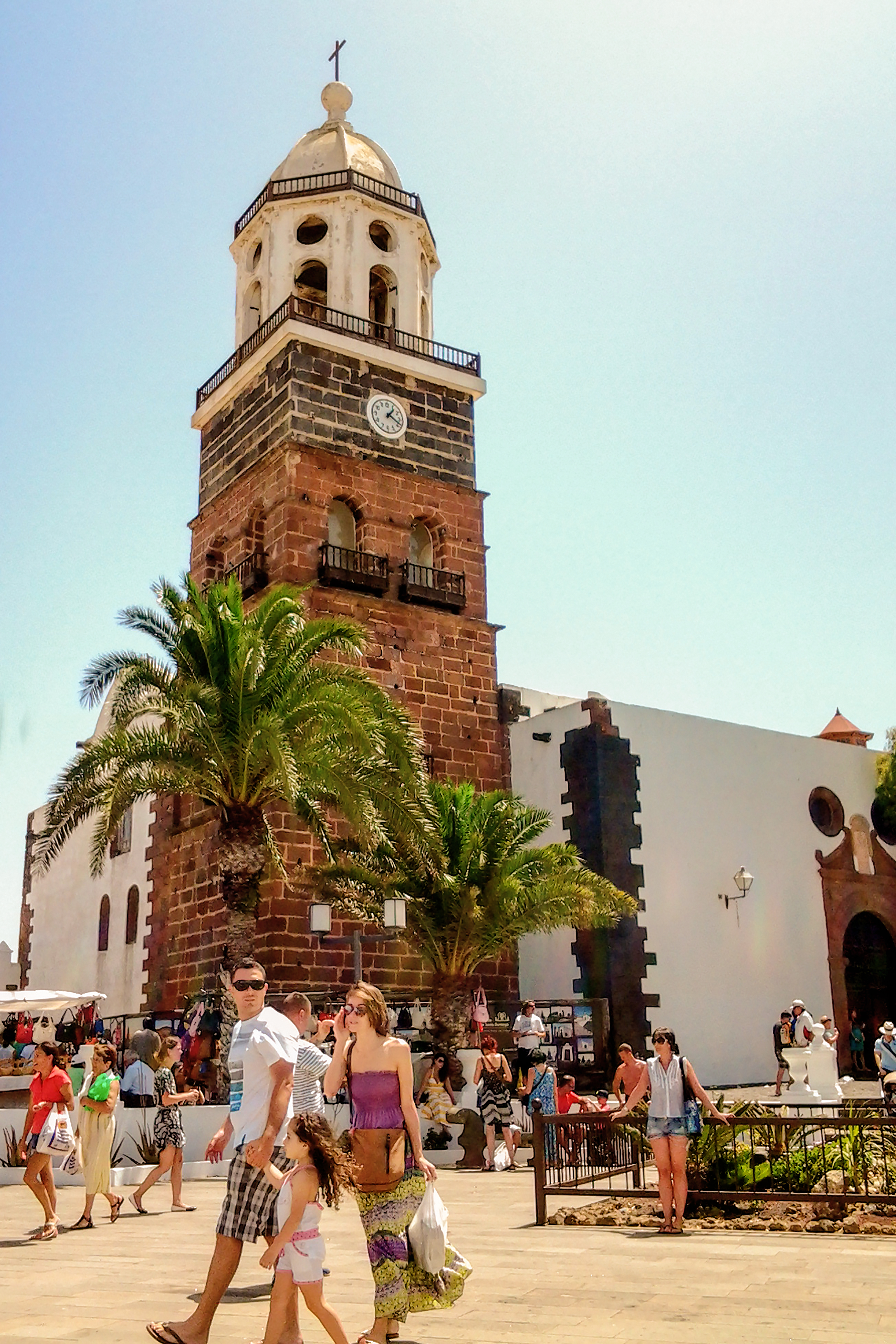 The Clocktower of Teguise.