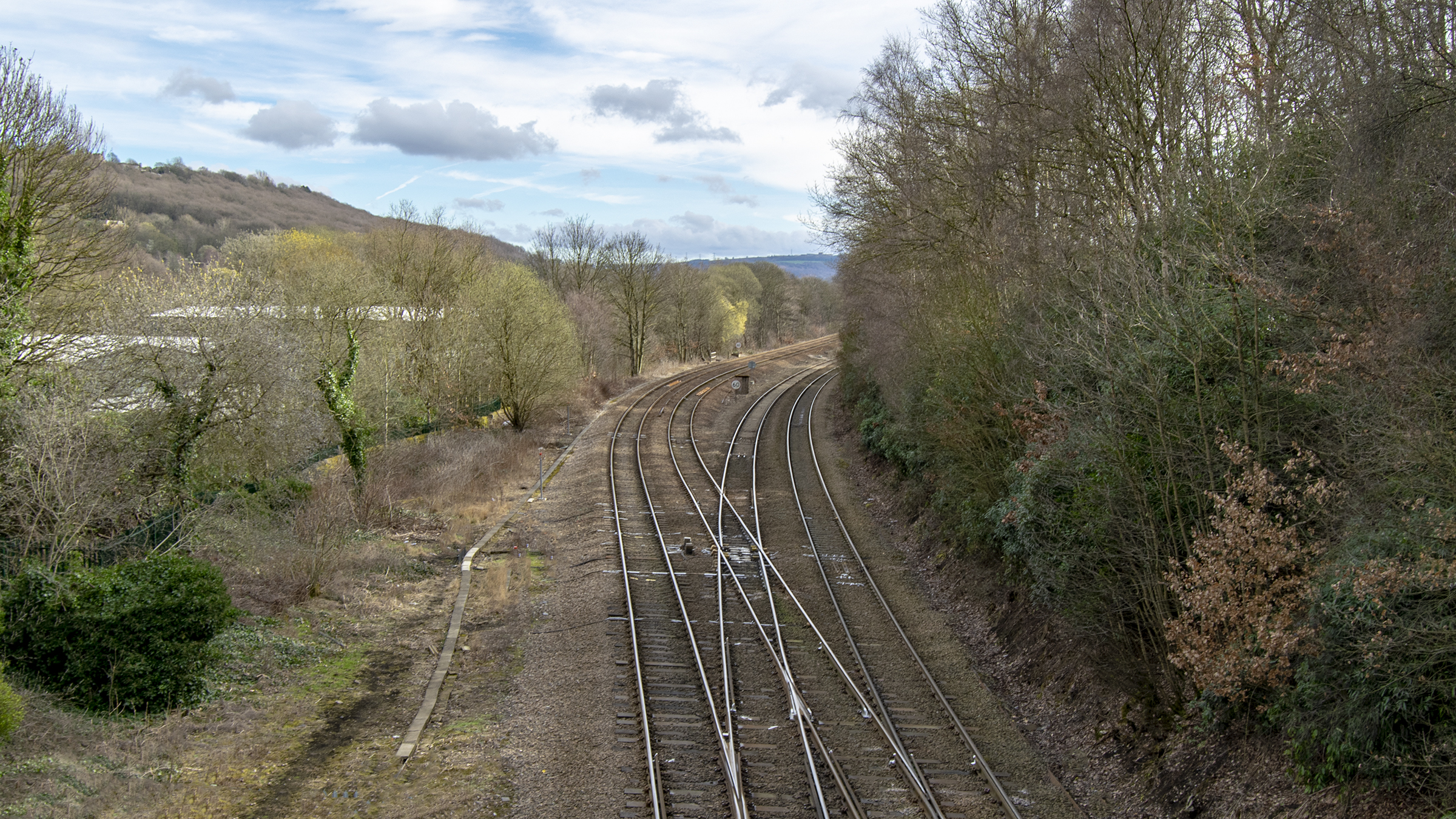 Milner Royd Railway Junction