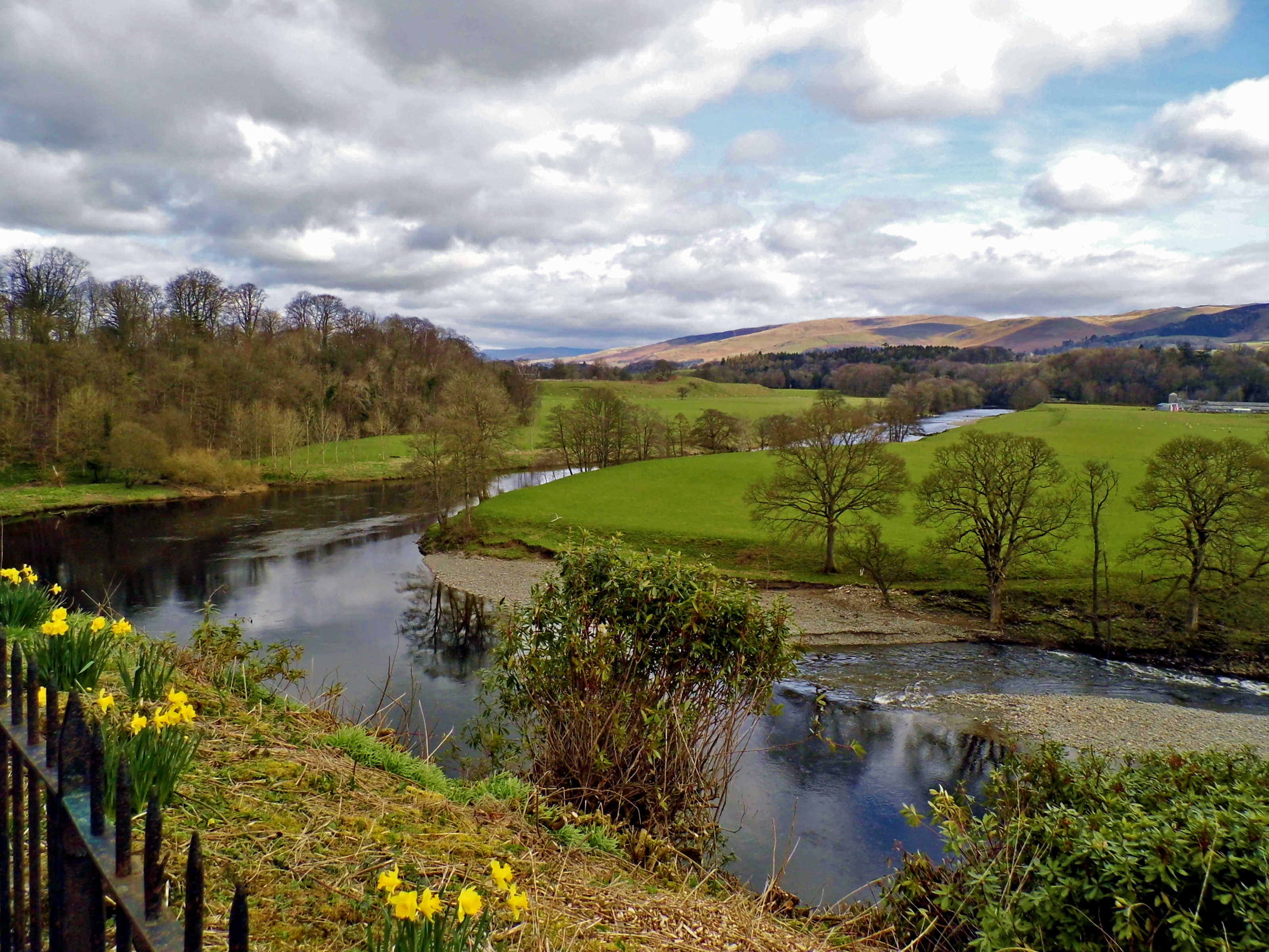 Ruskin's View... The River Lune, Kirkby Lonsdale.