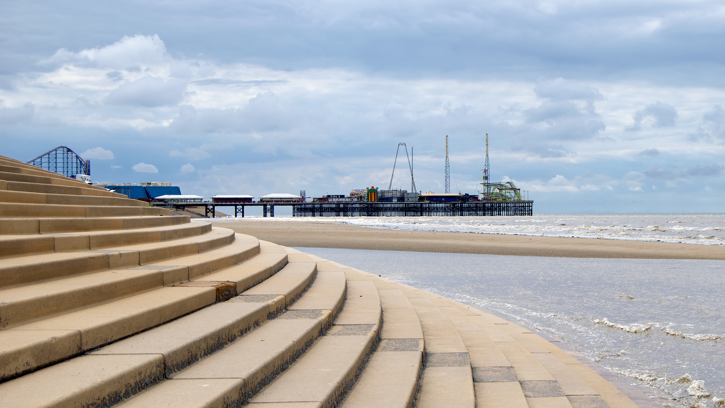 Blackpool's South Pier