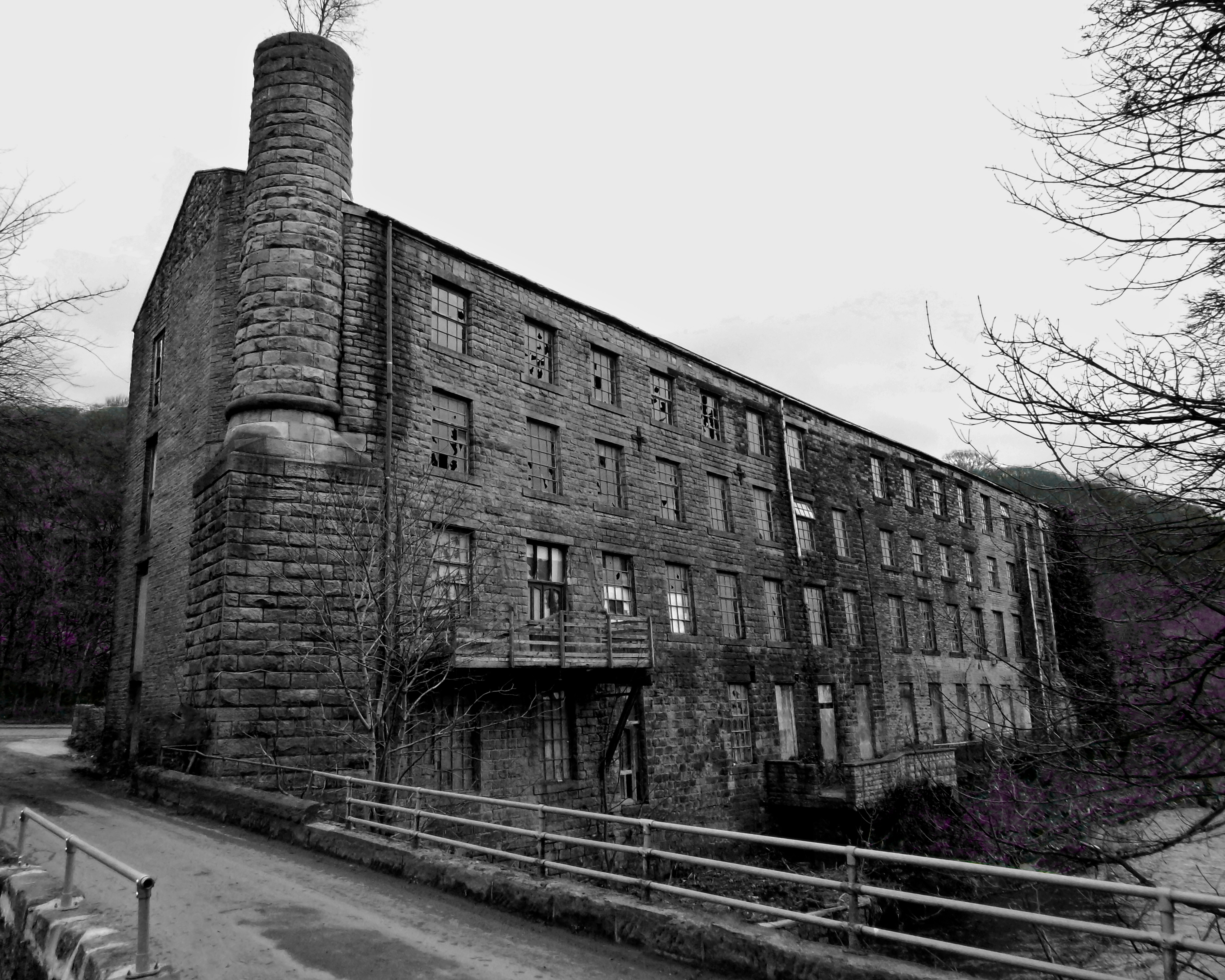 Dilapidated Mill, Hebden Bridge.