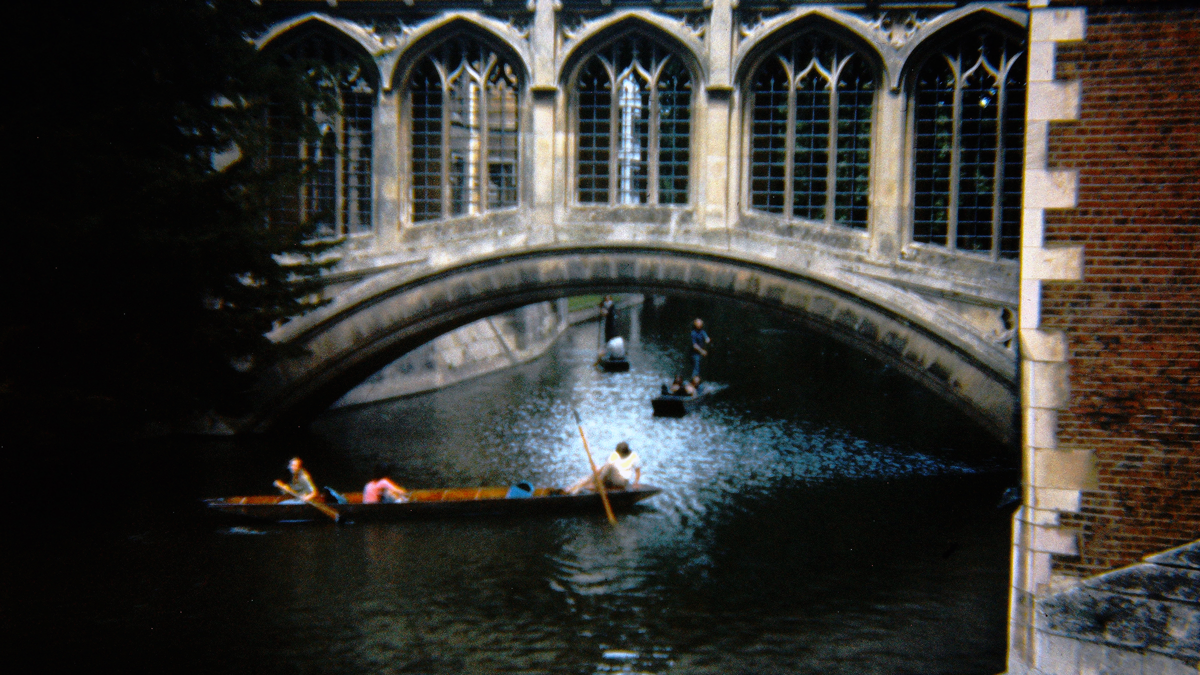 Vintage Picture - Bridge of Sighs Cambridge 1974
