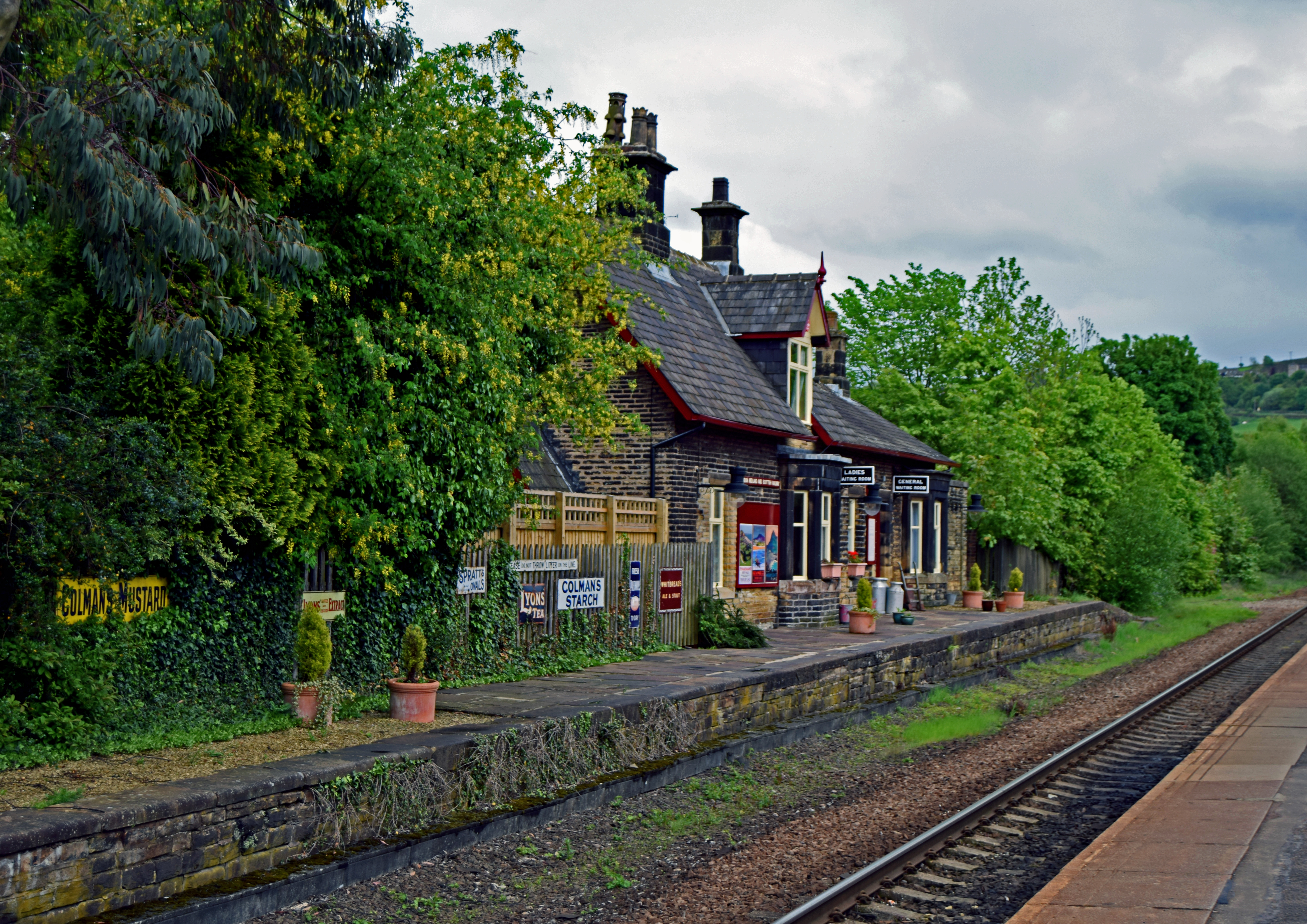 The Railway Station, Brockholes.