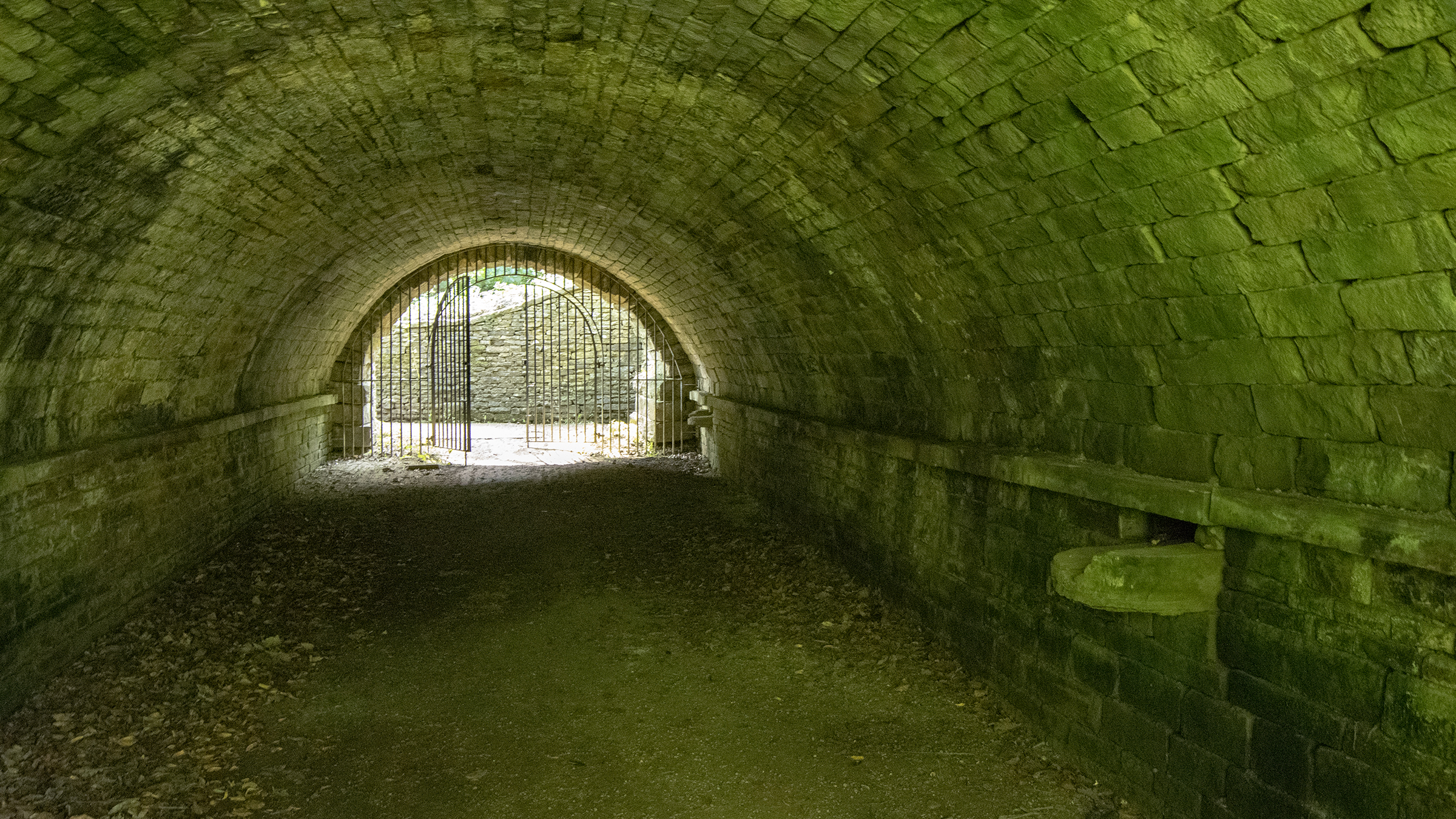 Tunnel at Shibden Hall