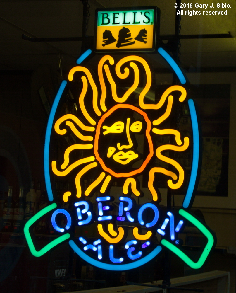 Bell's Oberon Ale Sign in a Liquor Store (2019-06-11 17-34-47_01)