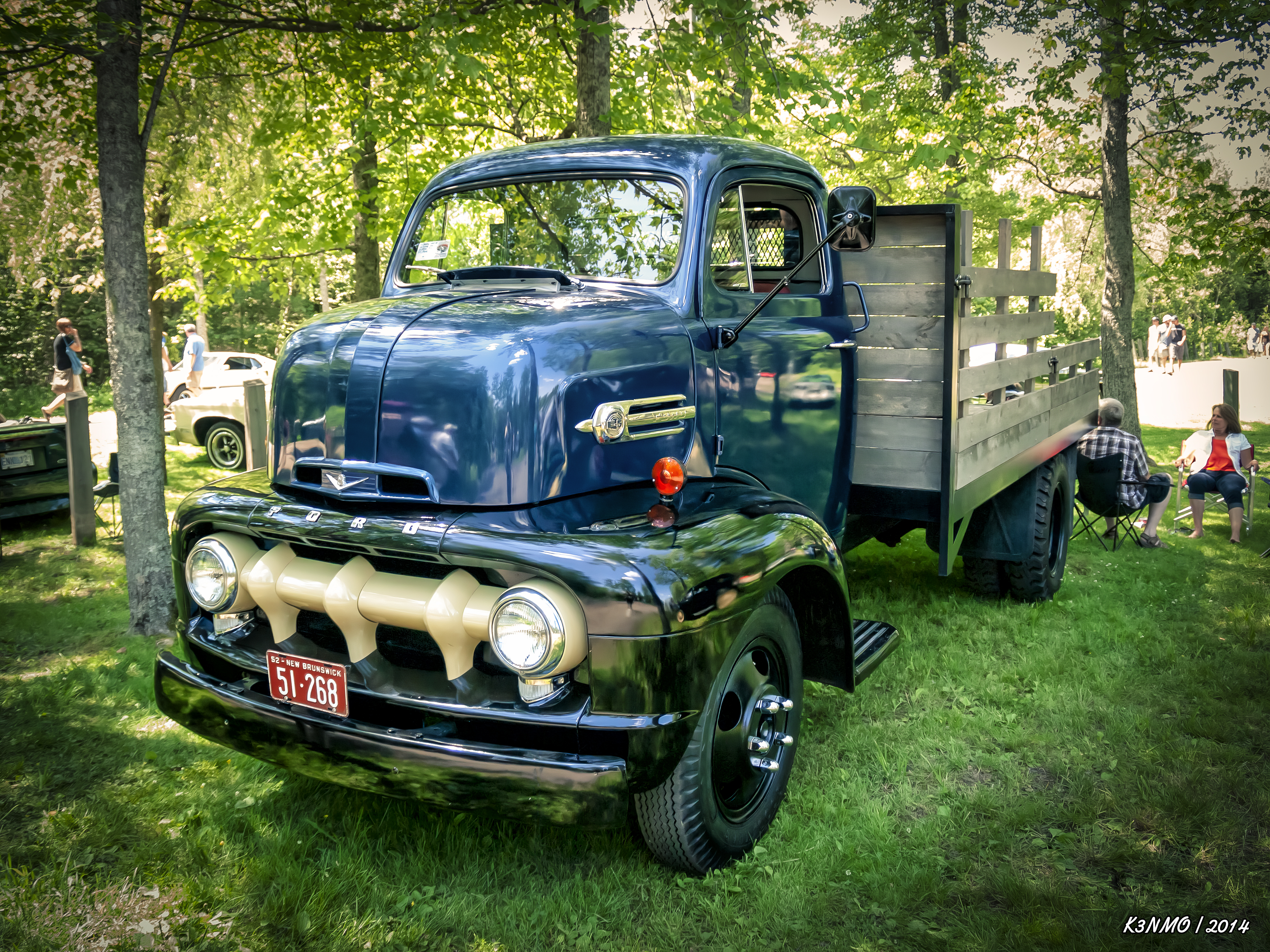 1952 Ford F5 COE (Cab Over Engine)  truck