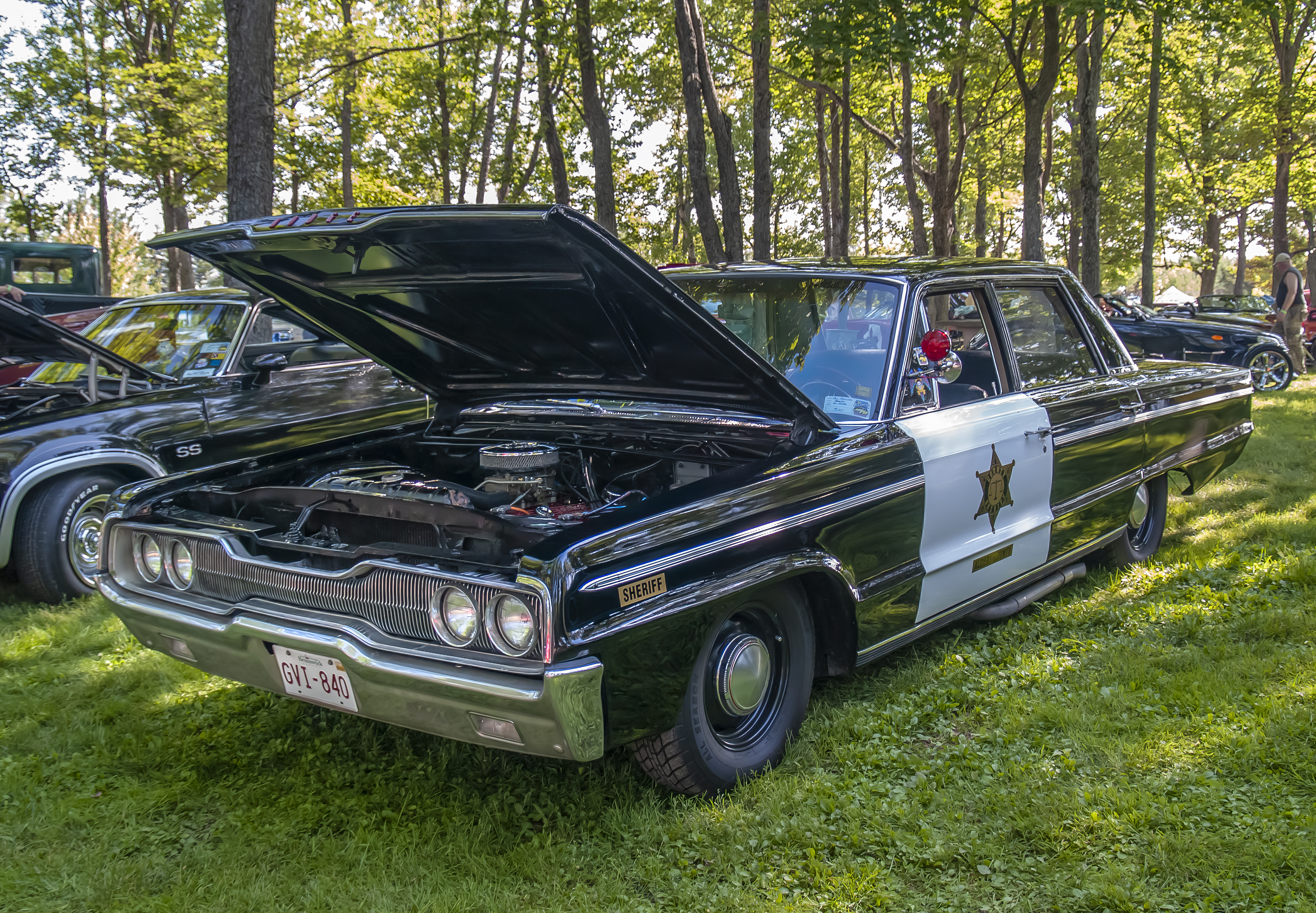 1966 Dodge Polara police car