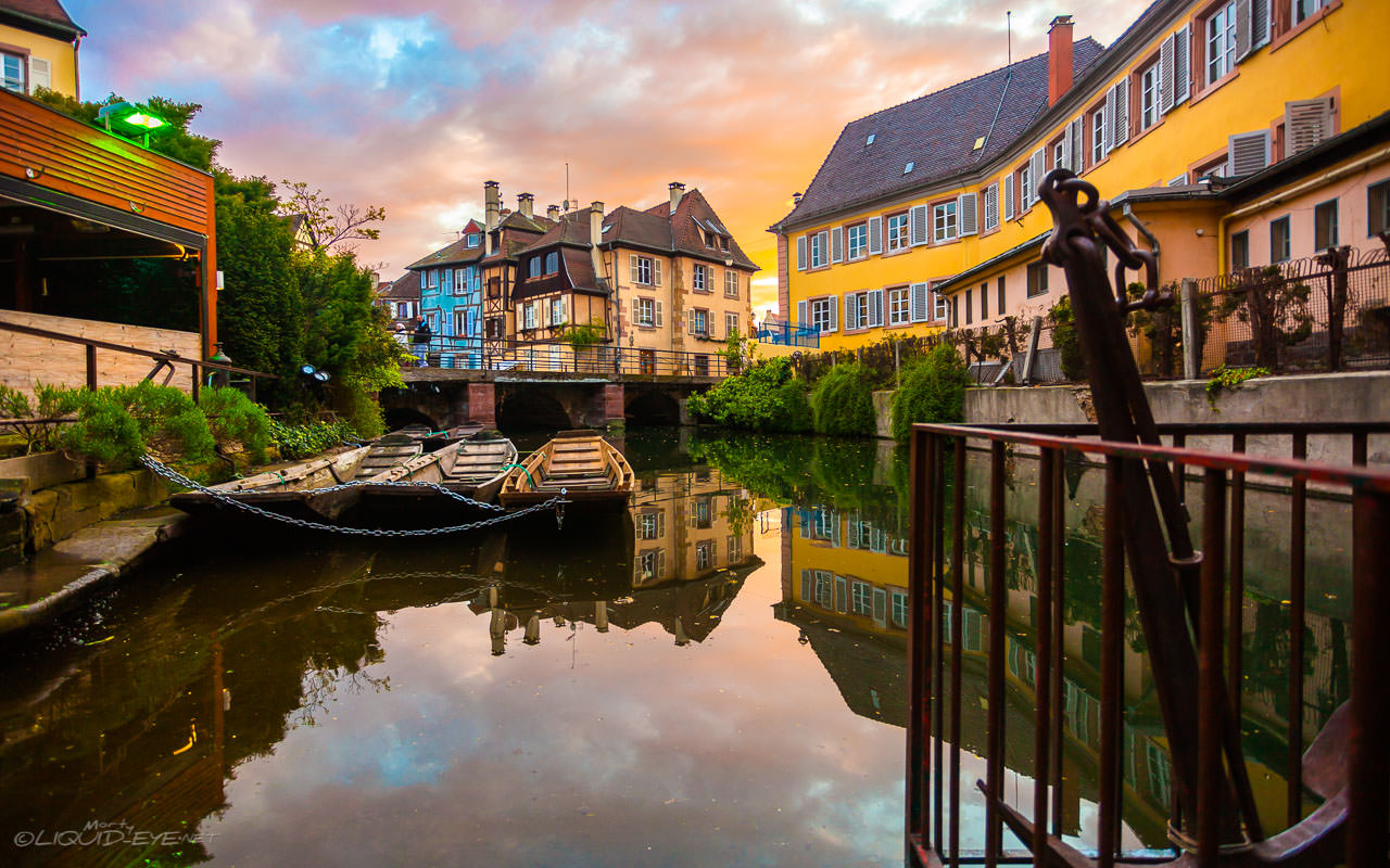 Sunset in Colmar III