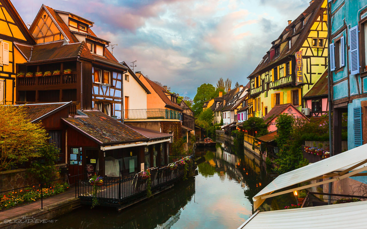 Sunset in Colmar II