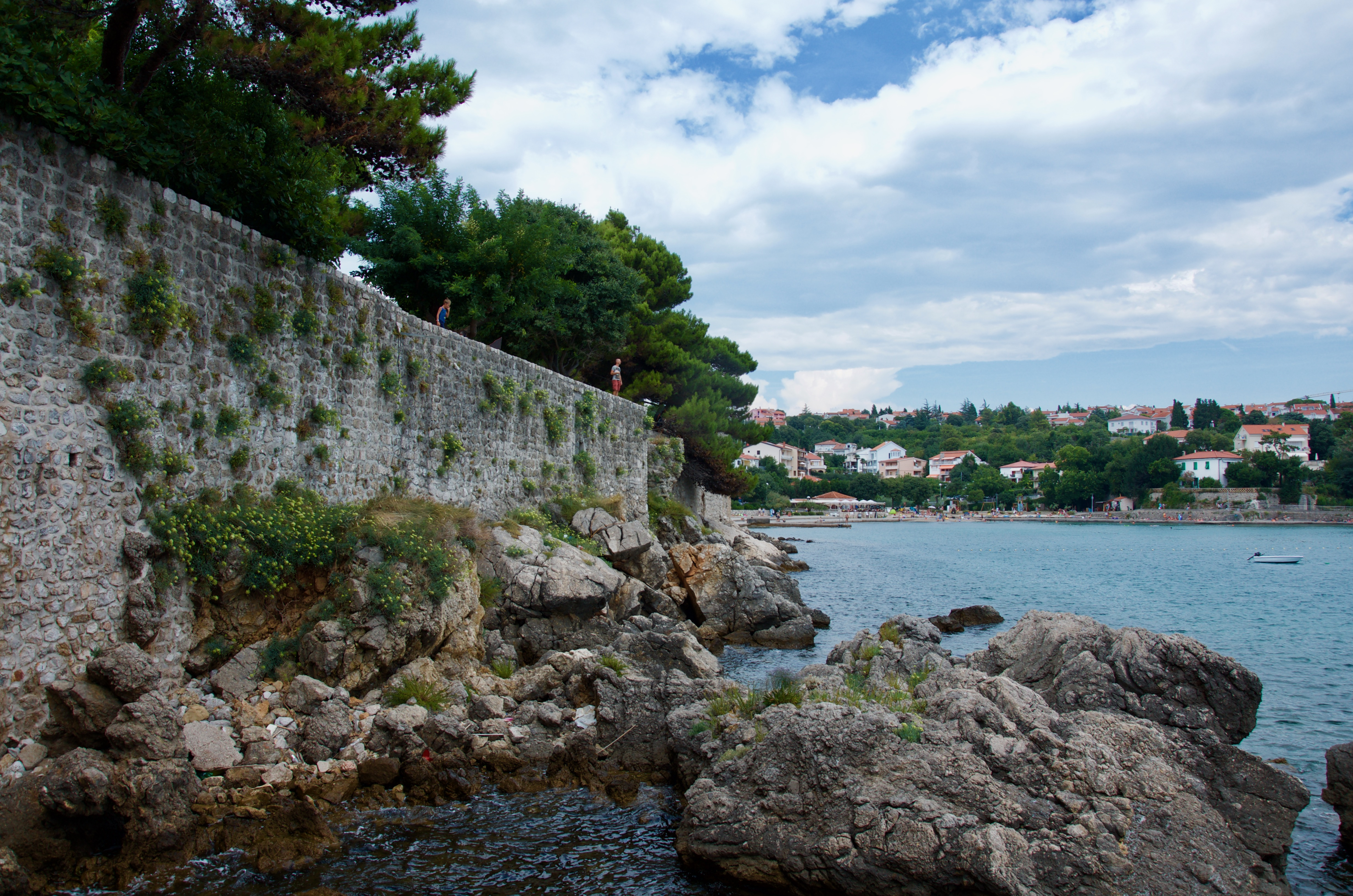 A visit to the city of Krk in Croatia. 2