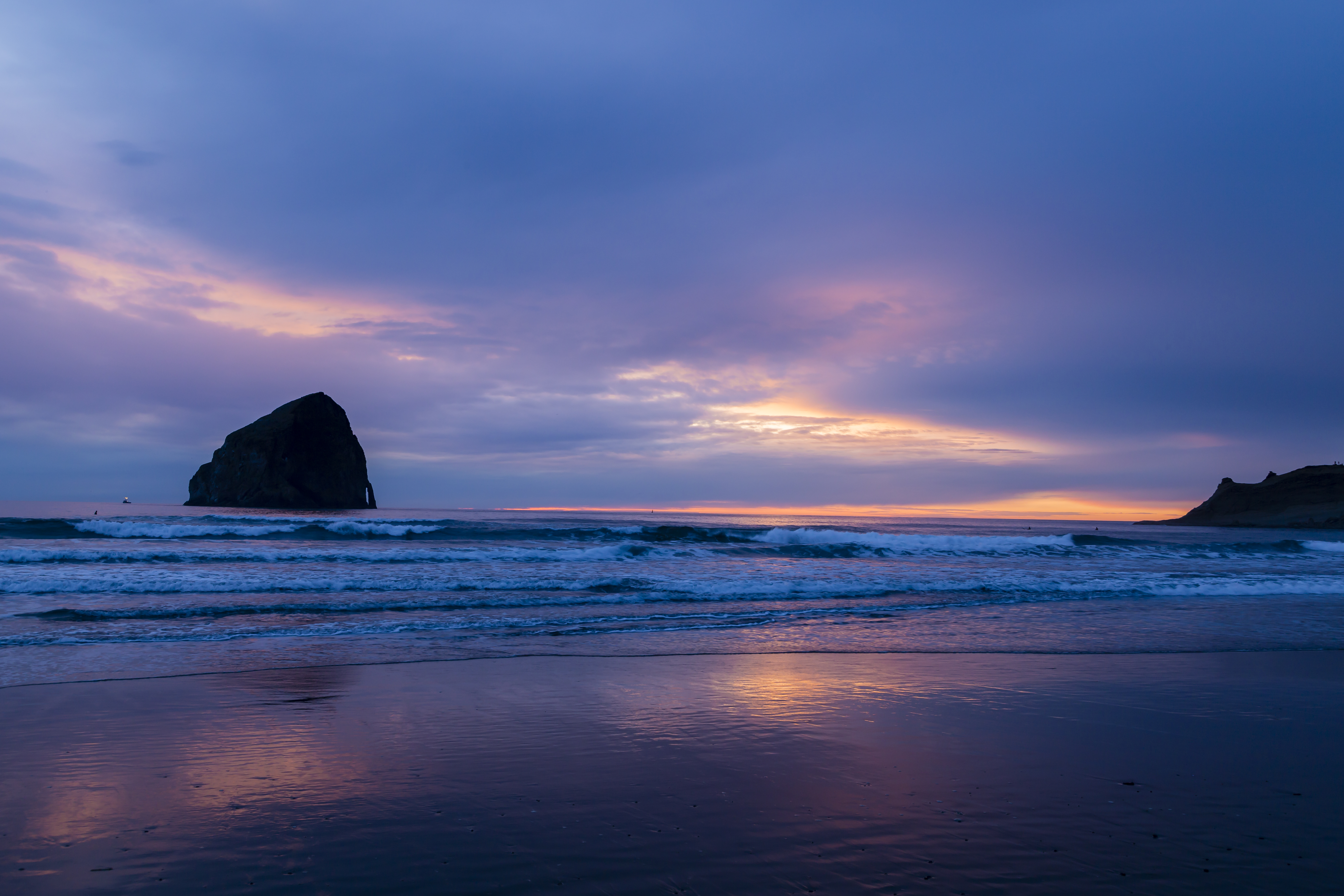 Pacific City Oregon- Haystack Rock Sunset #2