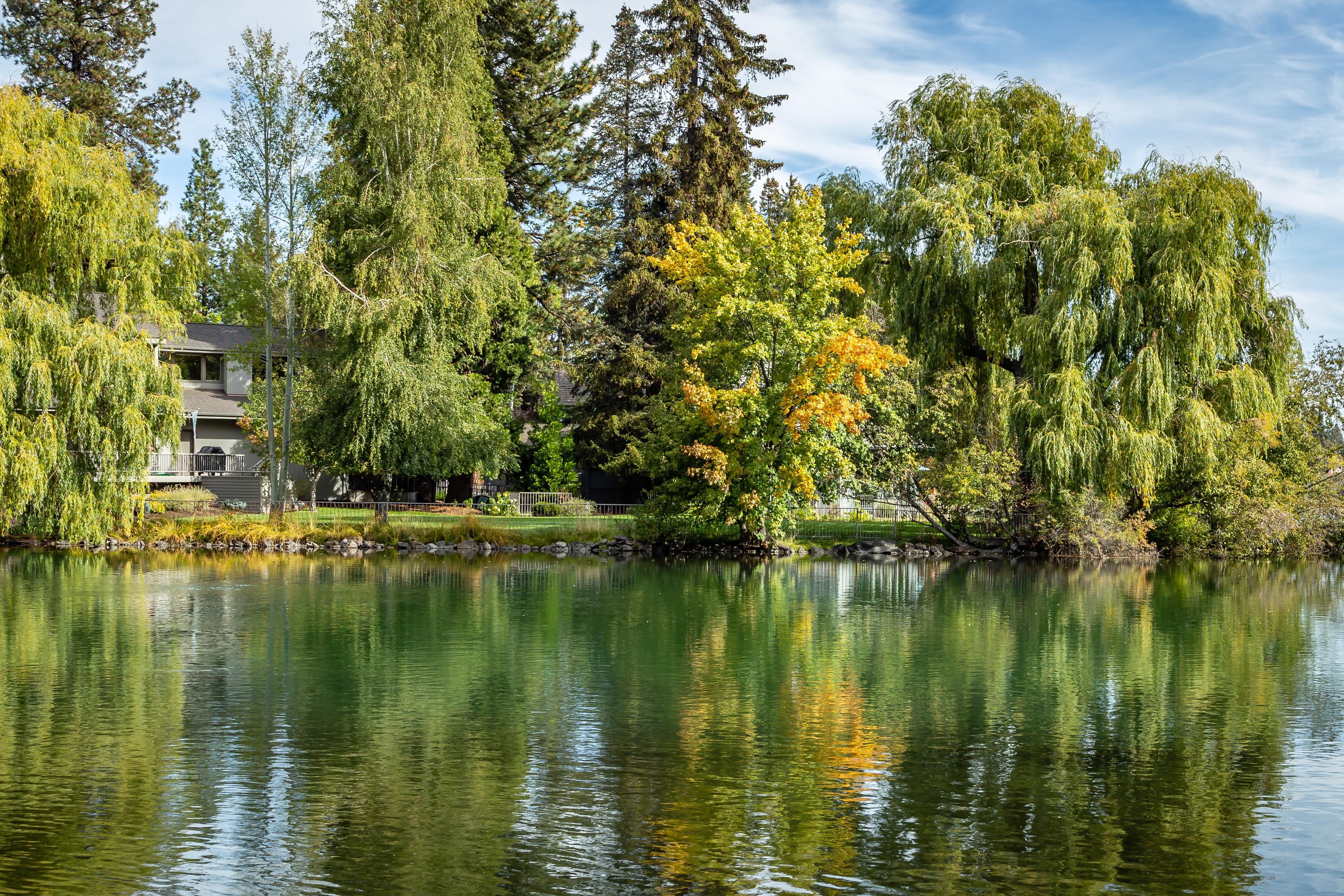 Drake Park- Mirror Pond - Bend Oregon
