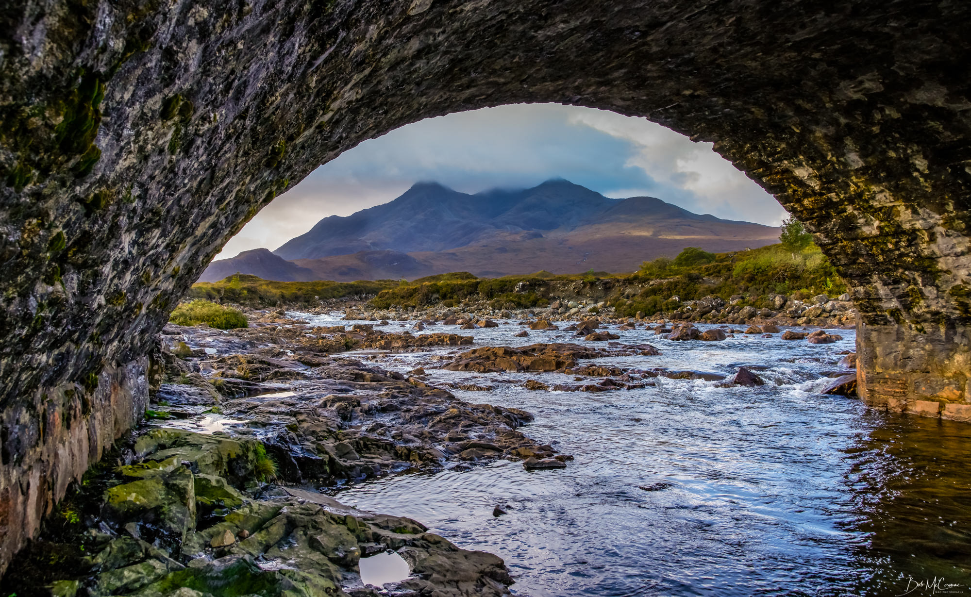 Under The Bridge At Sligachan