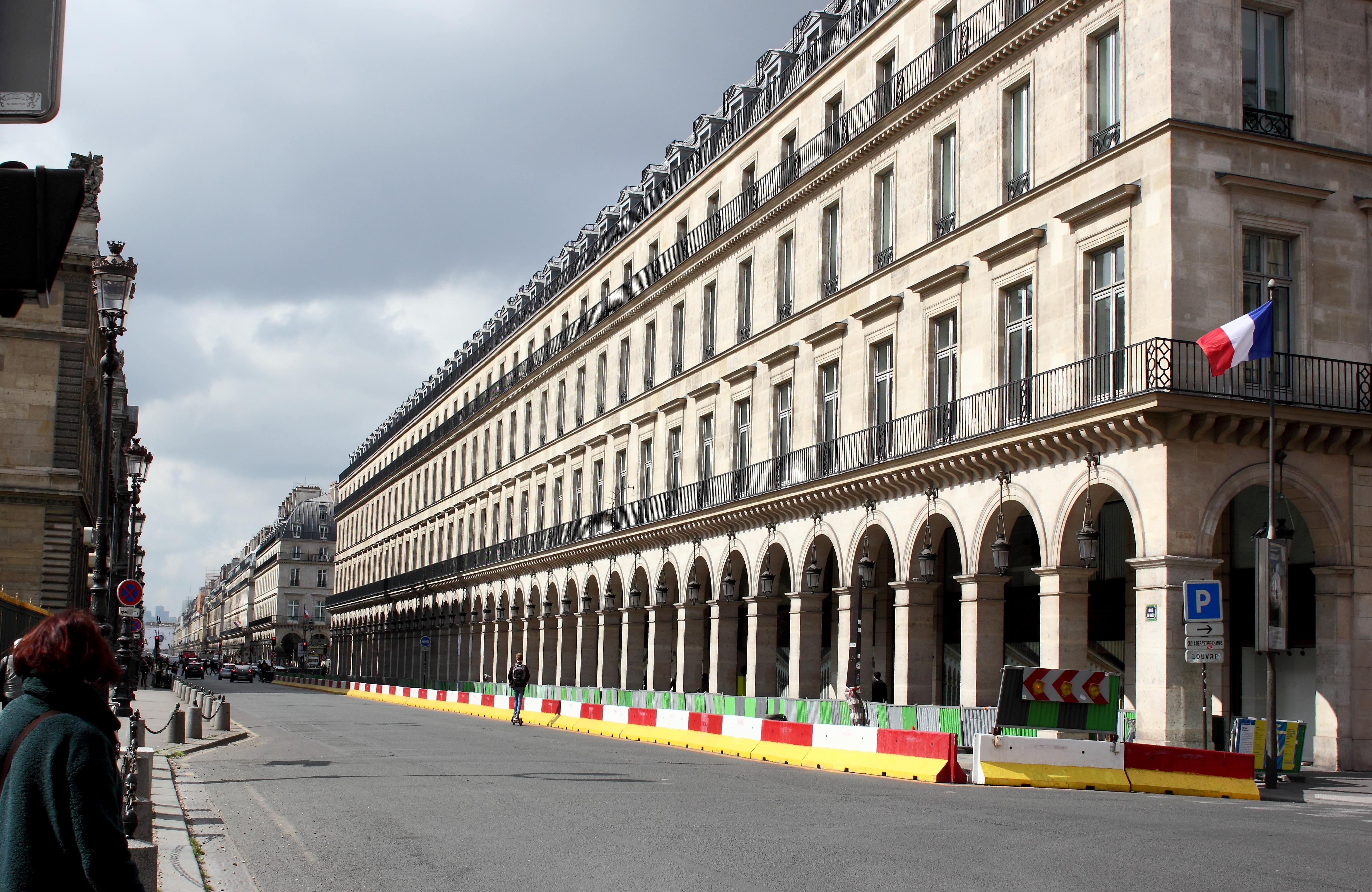 Arcade on the rue de Rivoli