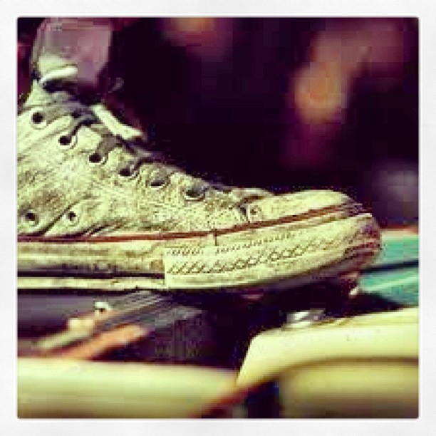 Dirty Converse + Stage = L.F.E