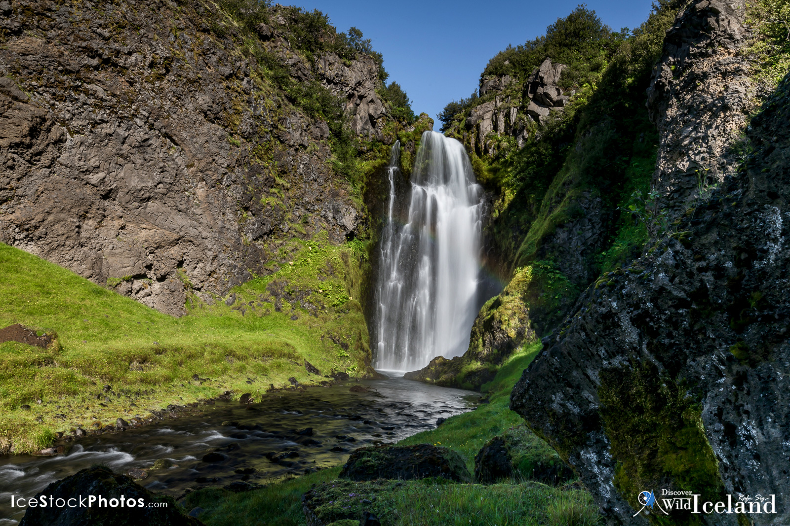 Discover Wild Iceland .is - Documenting this beautiful hidden waterfall in Iceland