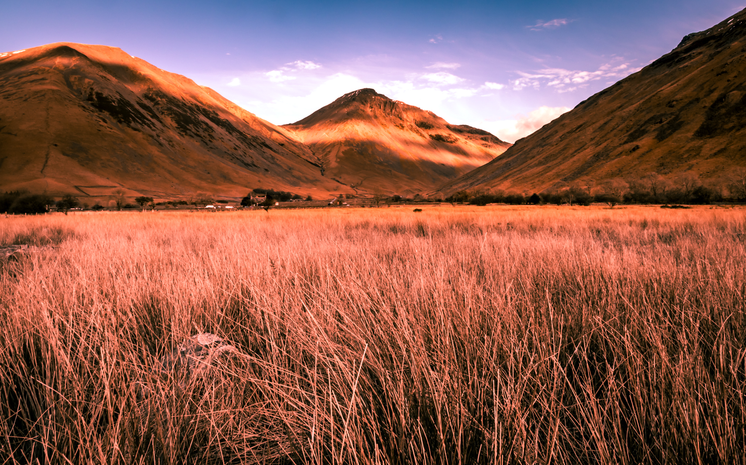 The English Lake District - sunset kissing the Wasdale valley.jpg