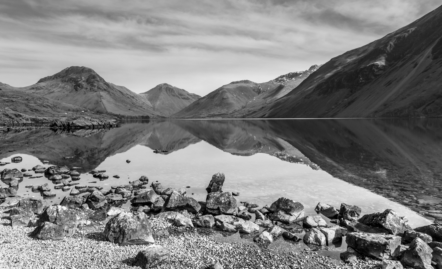 The English Lake District - Wastwater looking towards Wasdale Head