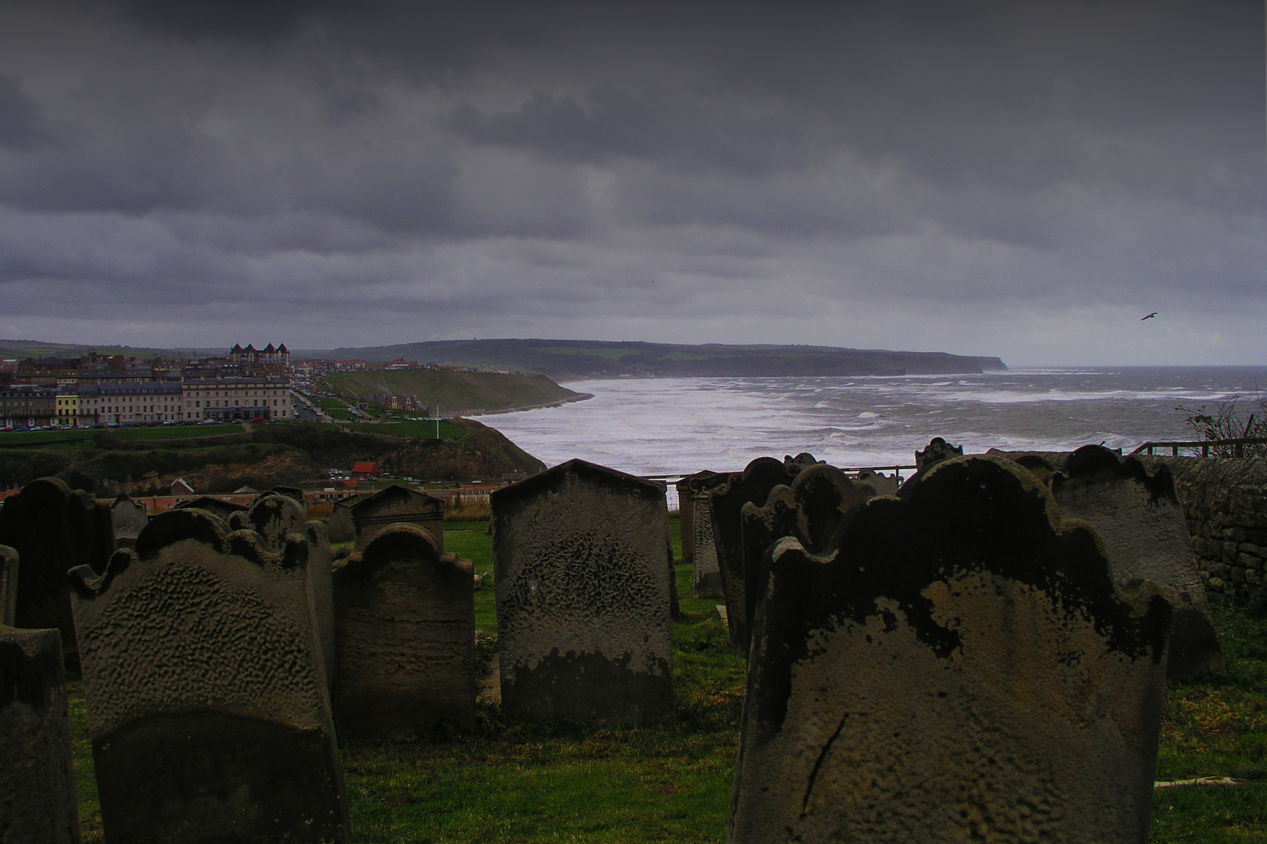 Graveyard at St Mary, Whitby