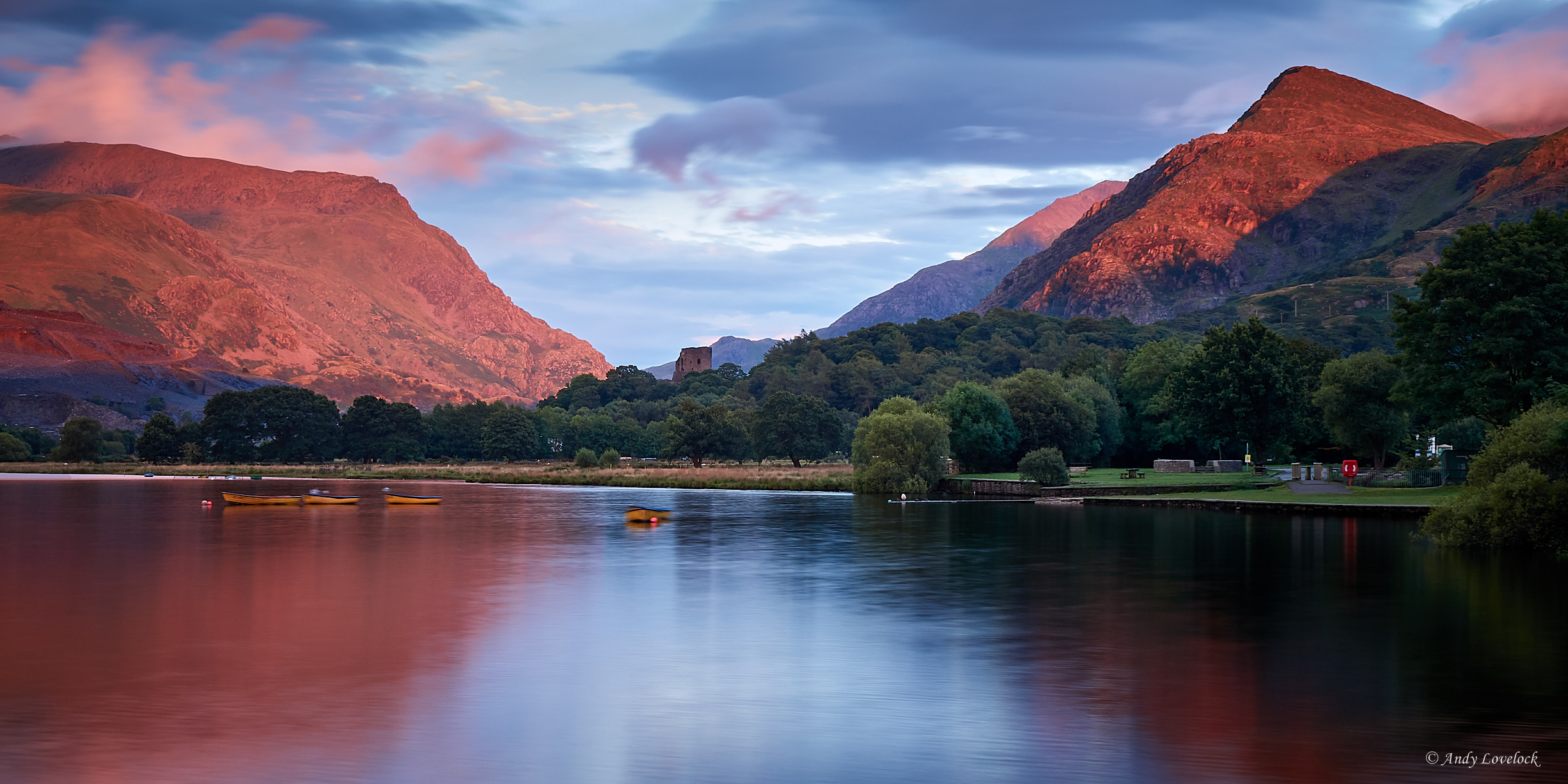 Evening Light over Llyn Padarn.jpg