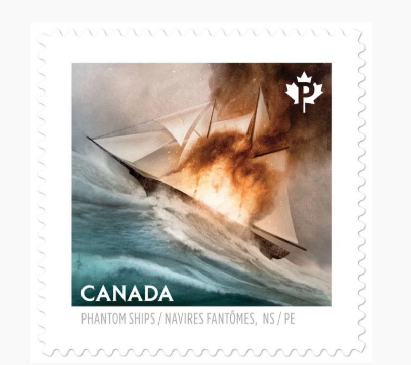 Burning Ship Stamp
