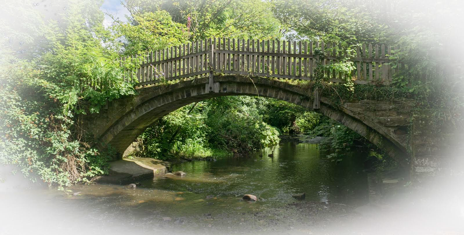 Beckfoot bridge. Near Bingley. West Yorkshire. England